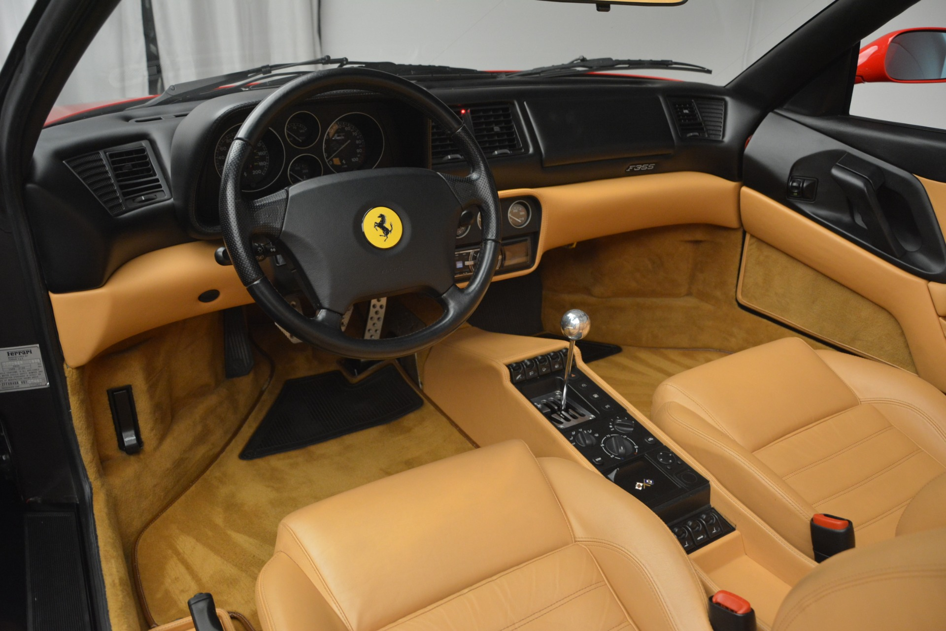 Used 1997 Ferrari 355 Spider 6-Speed Manual For Sale In Greenwich, CT 2735_p28