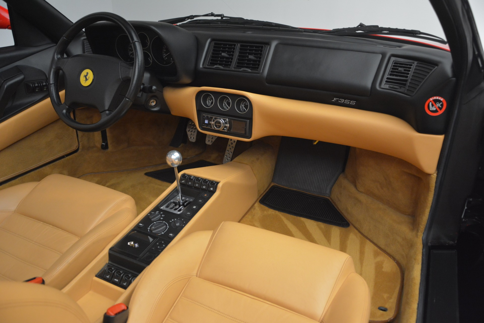 Used 1997 Ferrari 355 Spider 6-Speed Manual For Sale In Greenwich, CT 2735_p32