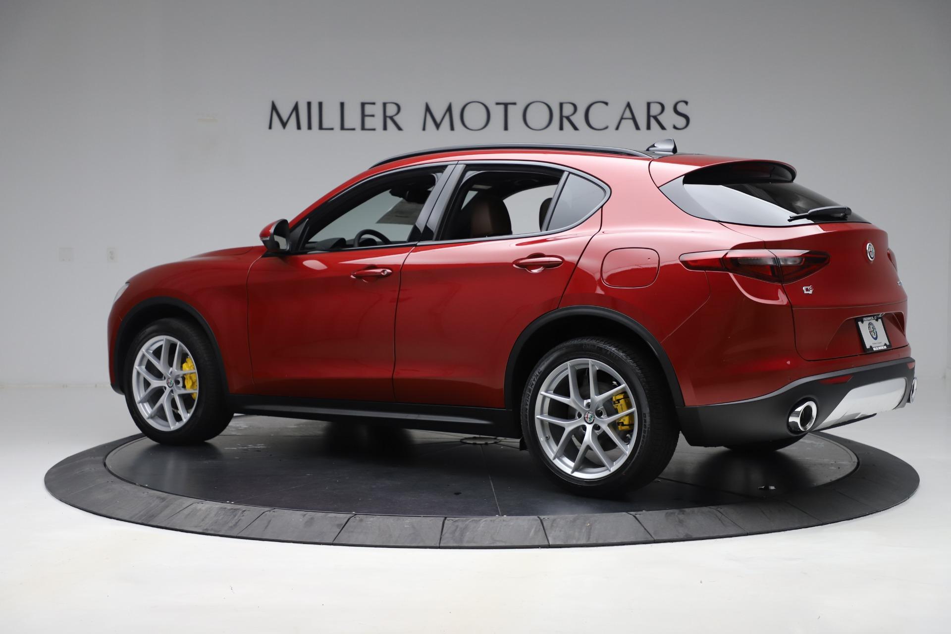 New 2019 Alfa Romeo Stelvio Ti Sport Q4 For Sale In Greenwich, CT 2744_p4