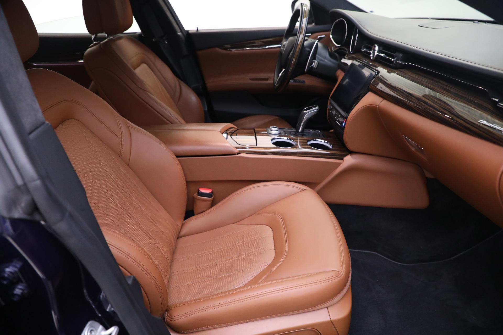 New 2019 Maserati Quattroporte S Q4 GranLusso For Sale In Greenwich, CT 2746_p21