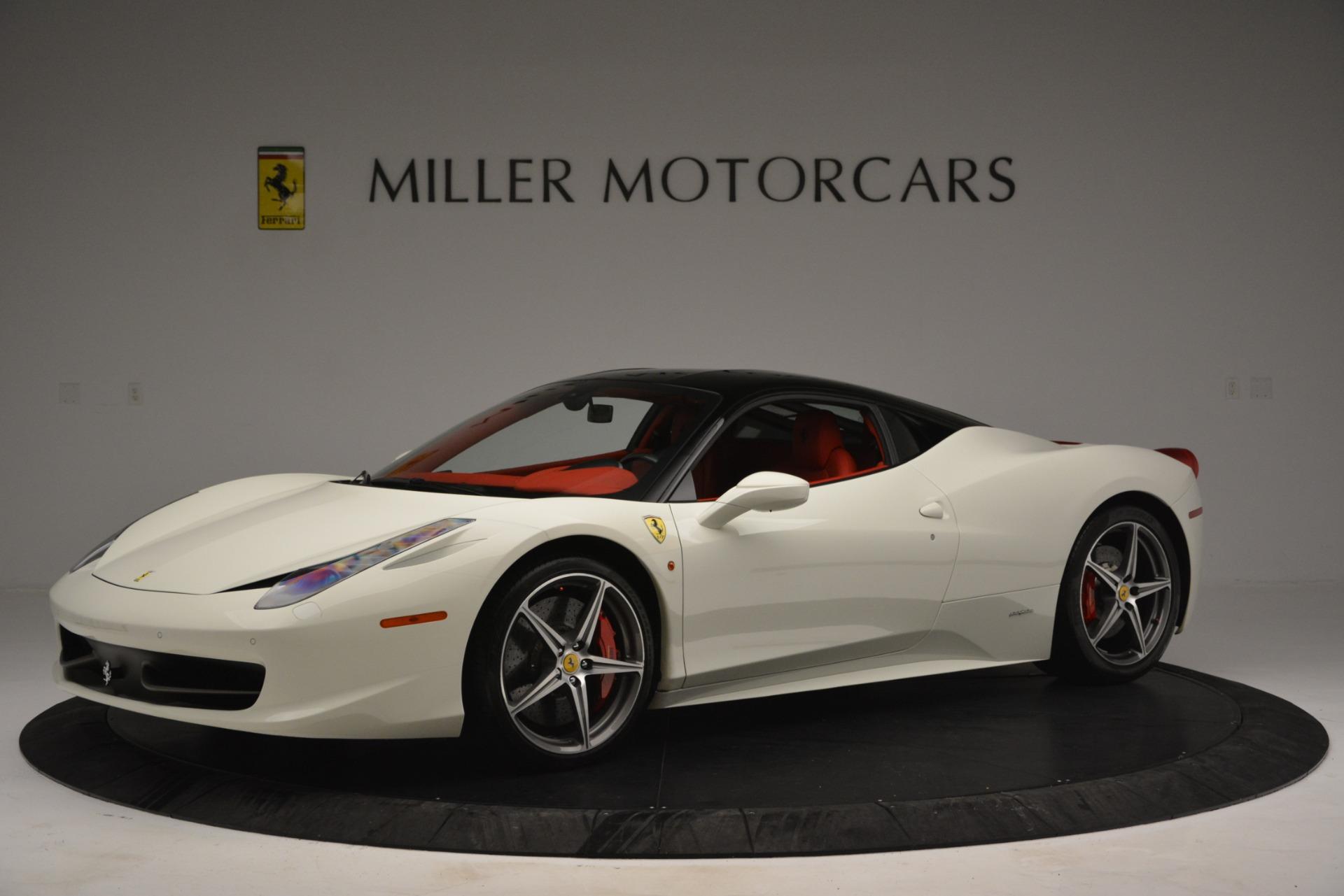 Used 2012 Ferrari 458 Italia  For Sale In Greenwich, CT 2781_p2