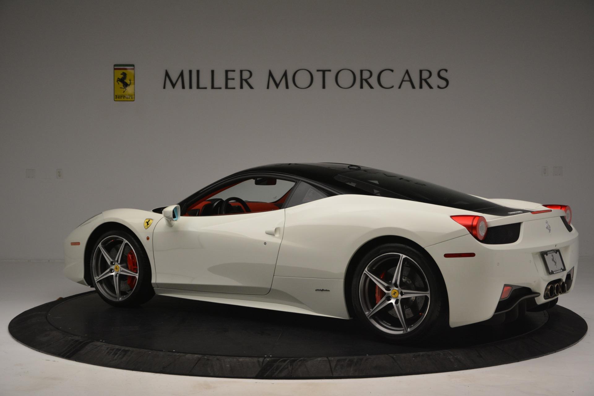 Used 2012 Ferrari 458 Italia  For Sale In Greenwich, CT 2781_p4