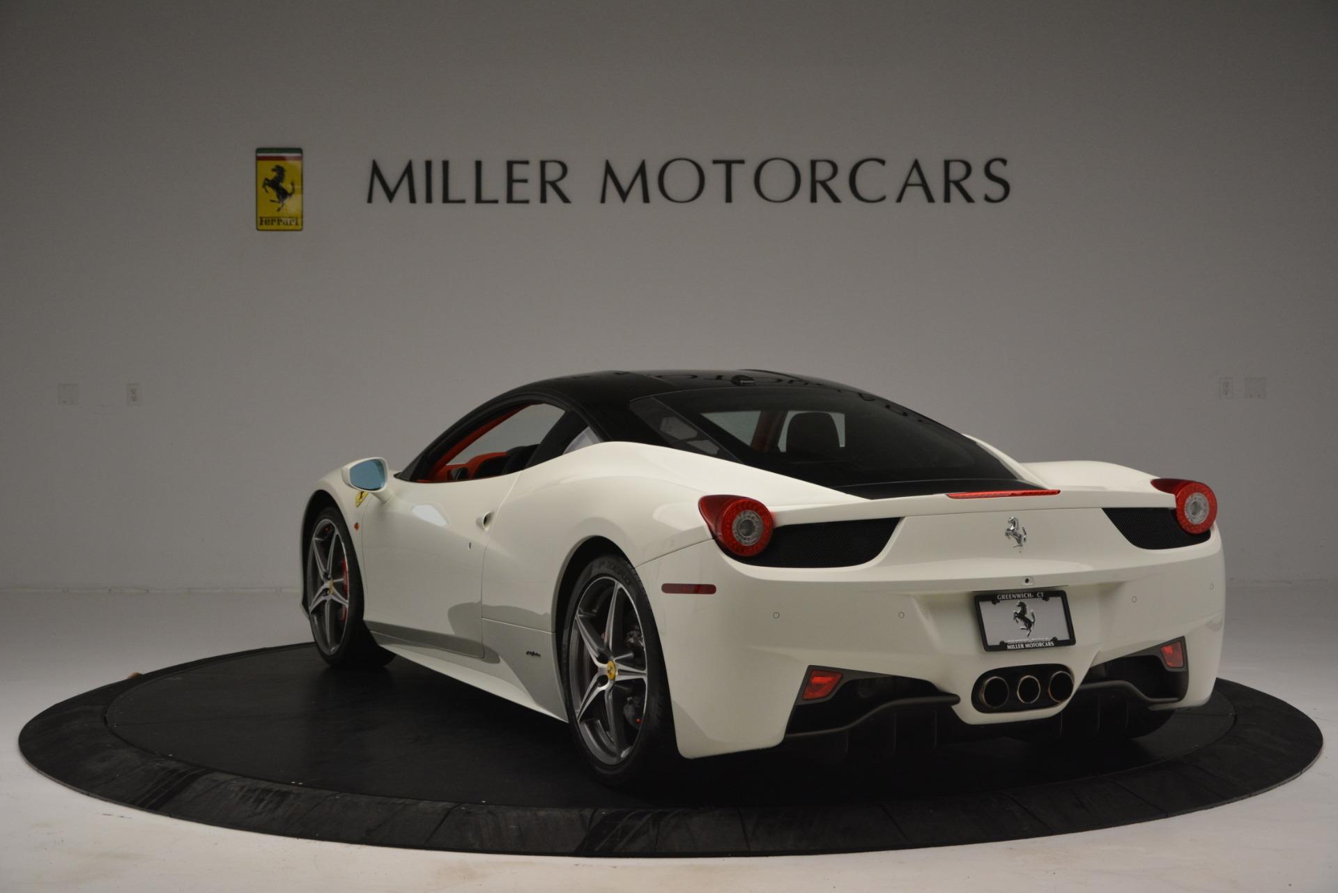 Used 2012 Ferrari 458 Italia  For Sale In Greenwich, CT 2781_p5