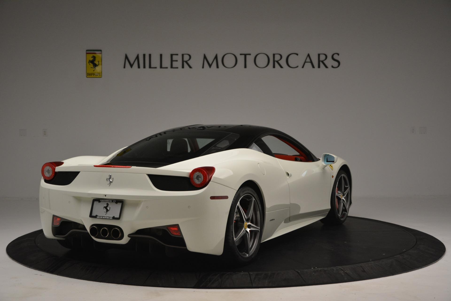 Used 2012 Ferrari 458 Italia  For Sale In Greenwich, CT 2781_p7