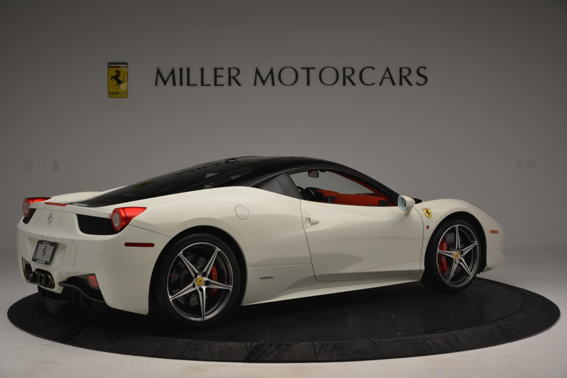 Used 2012 Ferrari 458 Italia  For Sale In Greenwich, CT 2781_p8