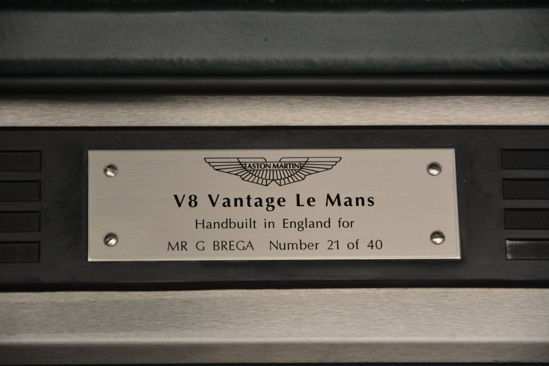Used 1999 Aston Martin V8 Vantage Le Mans V600 Coupe For Sale In Greenwich, CT 2789_p19