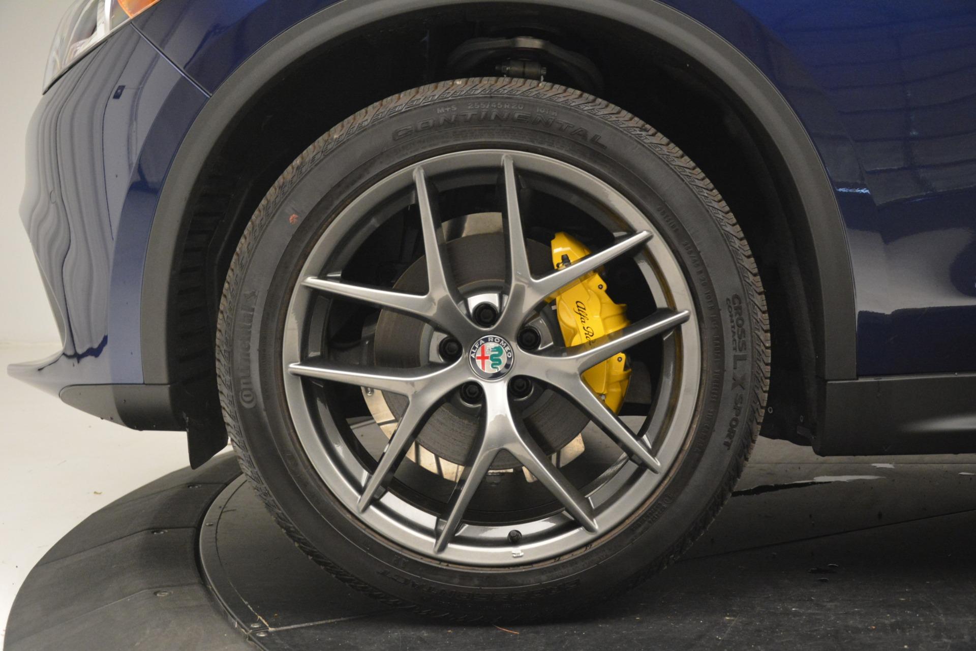New 2019 Alfa Romeo Stelvio Sport Q4 For Sale In Greenwich, CT 2815_p30