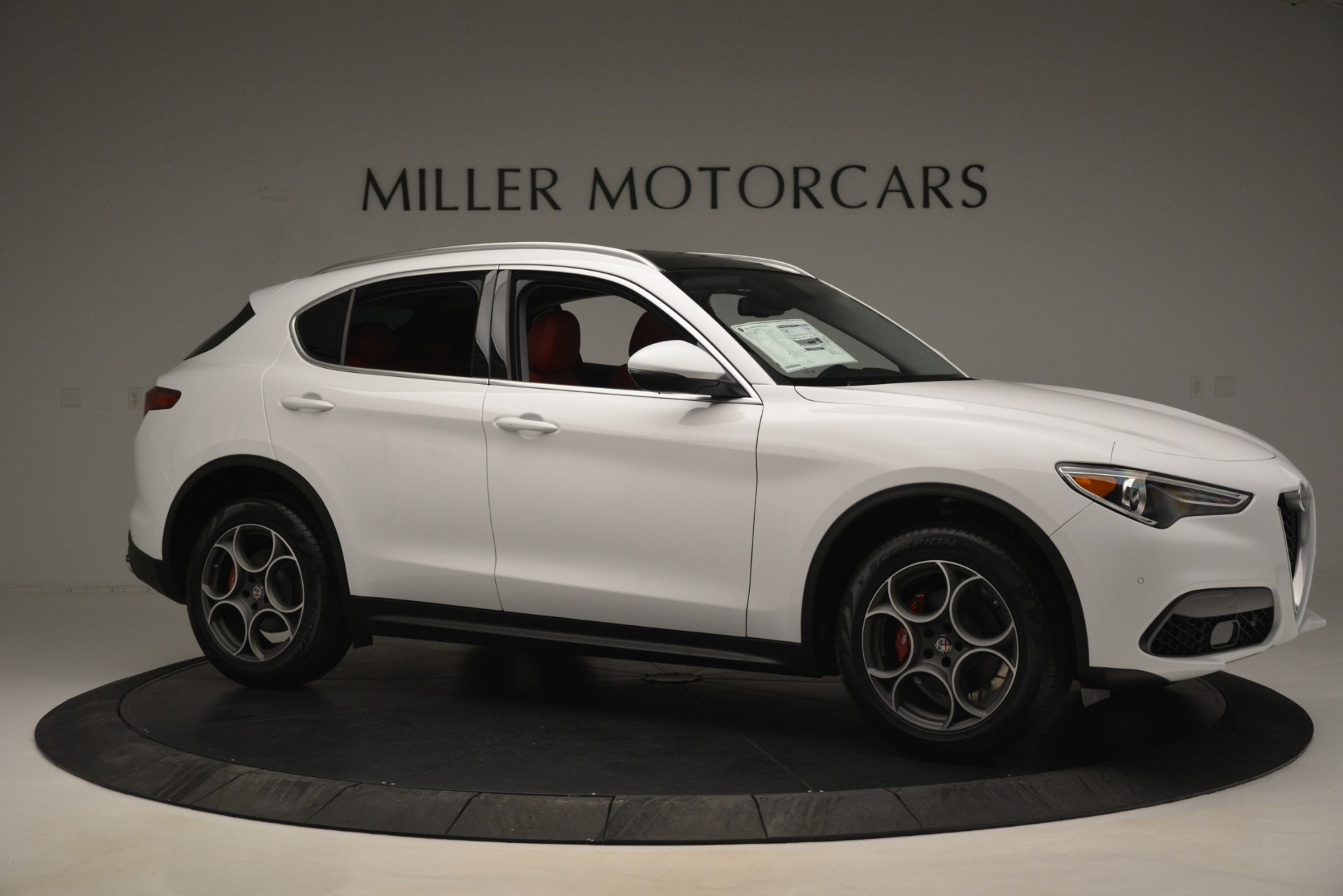 New 2019 Alfa Romeo Stelvio Q4 For Sale In Greenwich, CT 2819_p10