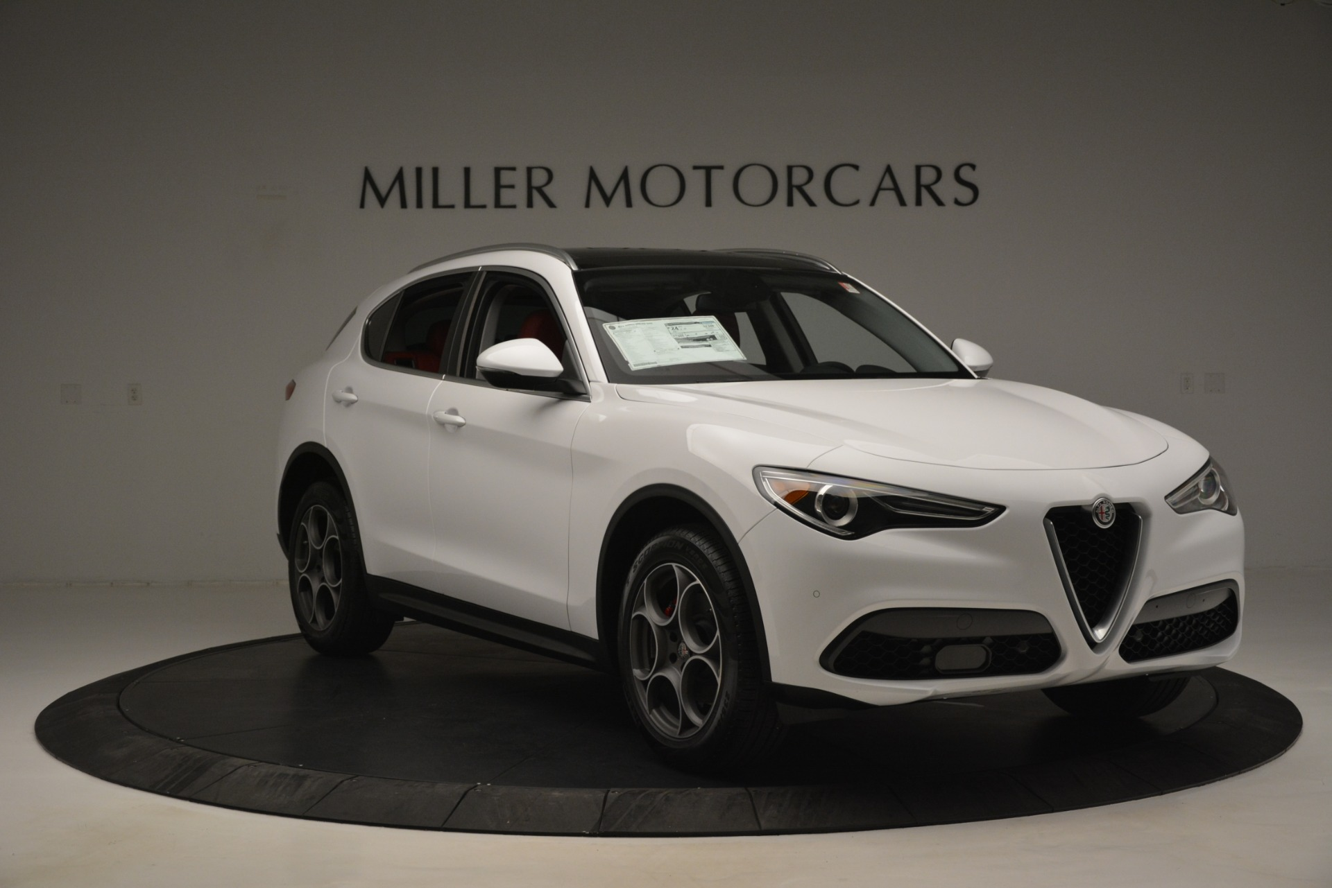 New 2019 Alfa Romeo Stelvio Q4 For Sale In Greenwich, CT 2819_p11