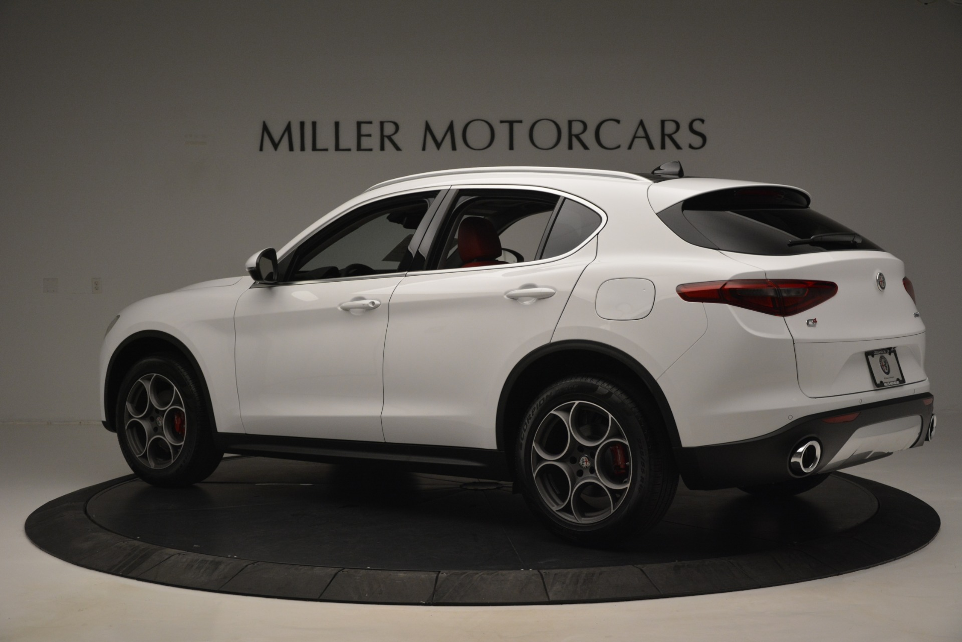 New 2019 Alfa Romeo Stelvio Q4 For Sale In Greenwich, CT 2819_p4