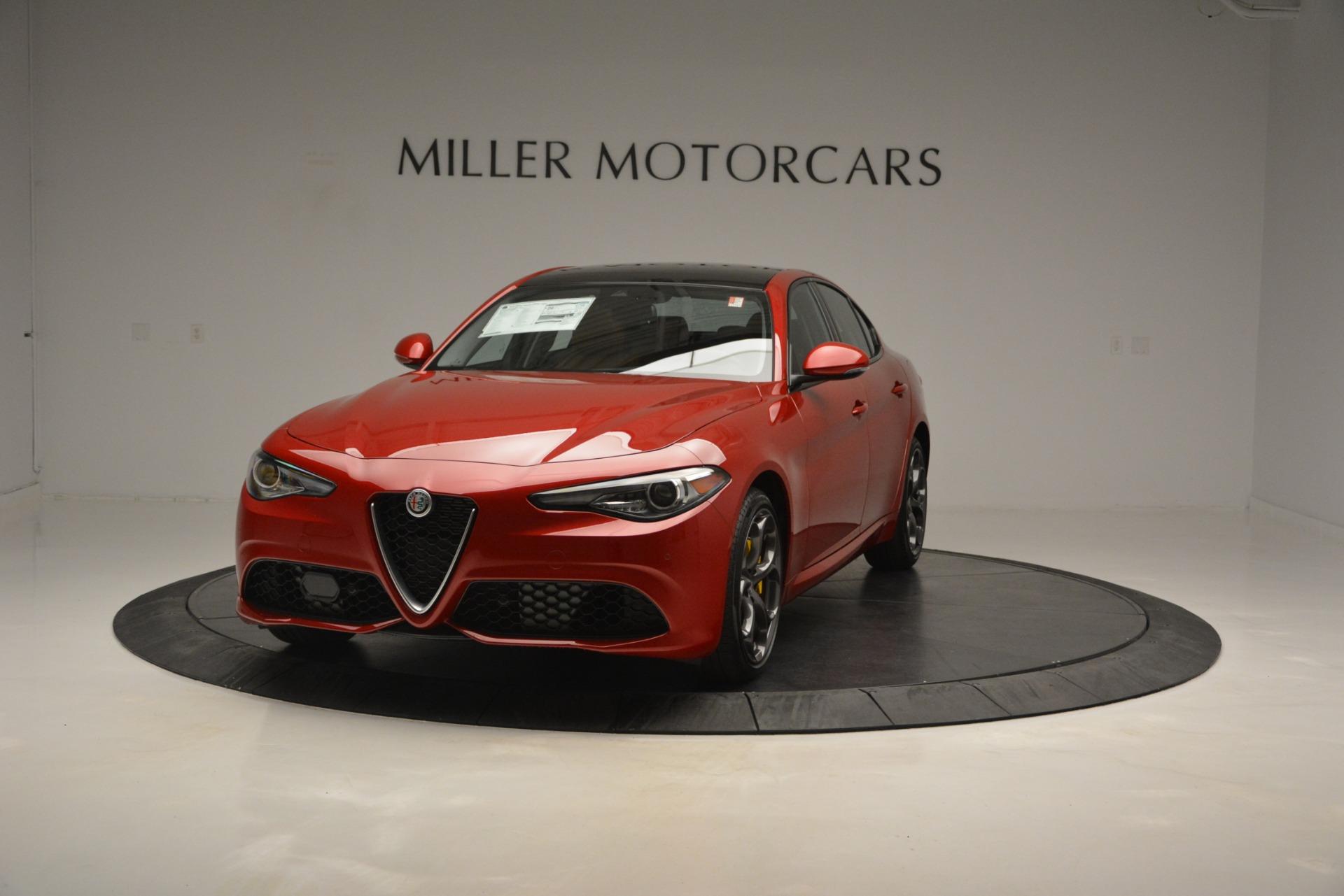 New 2019 Alfa Romeo Giulia Ti Sport Q4 For Sale In Greenwich, CT 2833_main