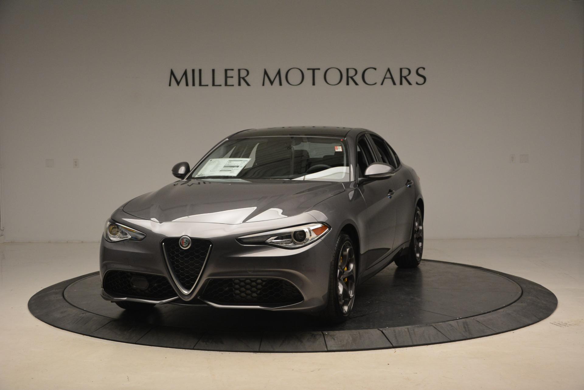 New 2019 Alfa Romeo Giulia Ti Sport Q4 For Sale In Greenwich, CT 2838_main