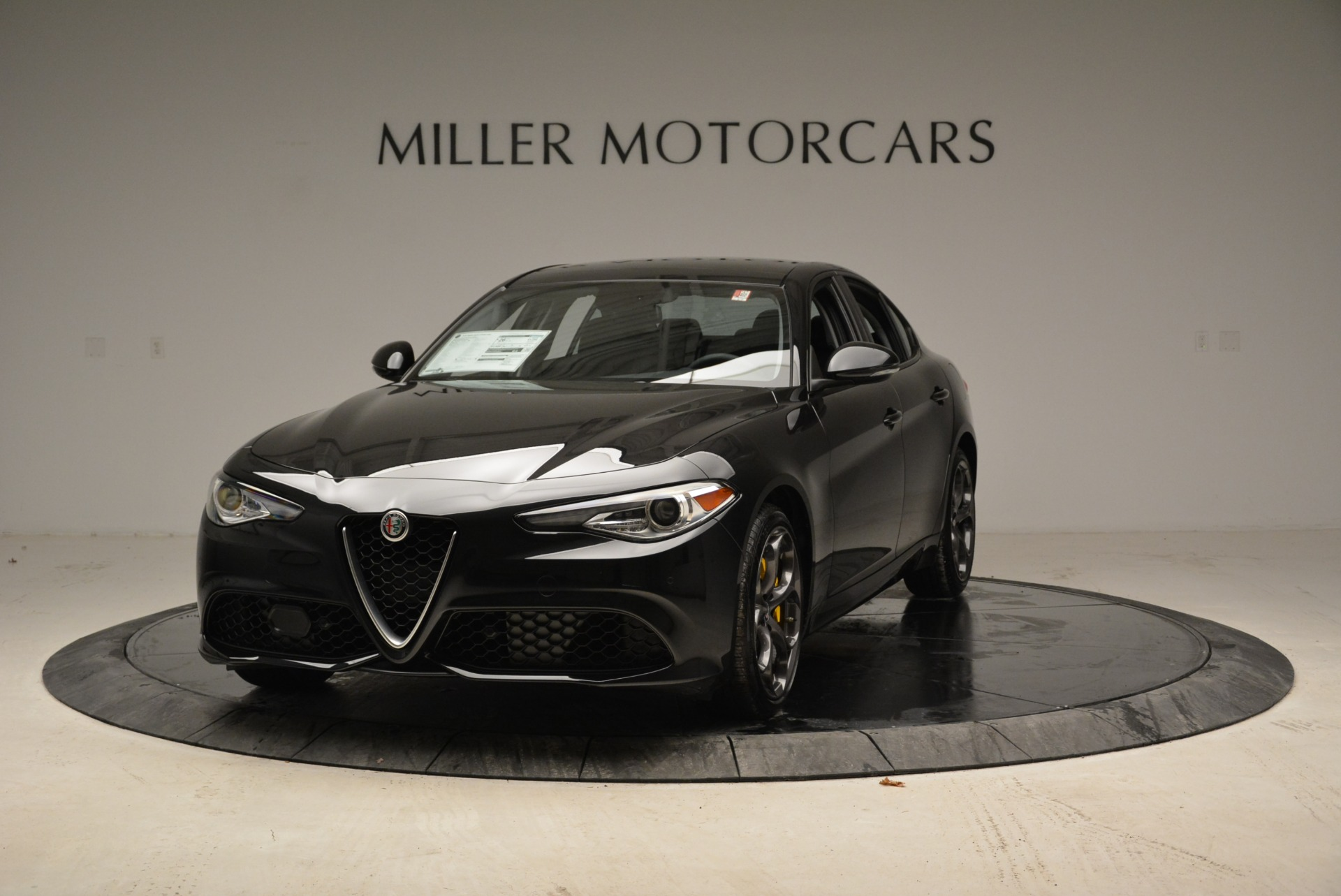 New 2019 Alfa Romeo Giulia Ti Sport Q4 For Sale In Greenwich, CT 2840_main