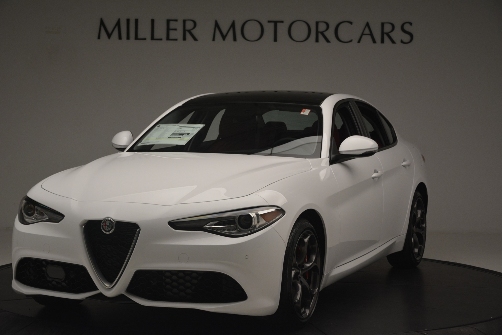 New 2019 Alfa Romeo Giulia Ti Sport Q4 For Sale In Greenwich, CT 2859_main
