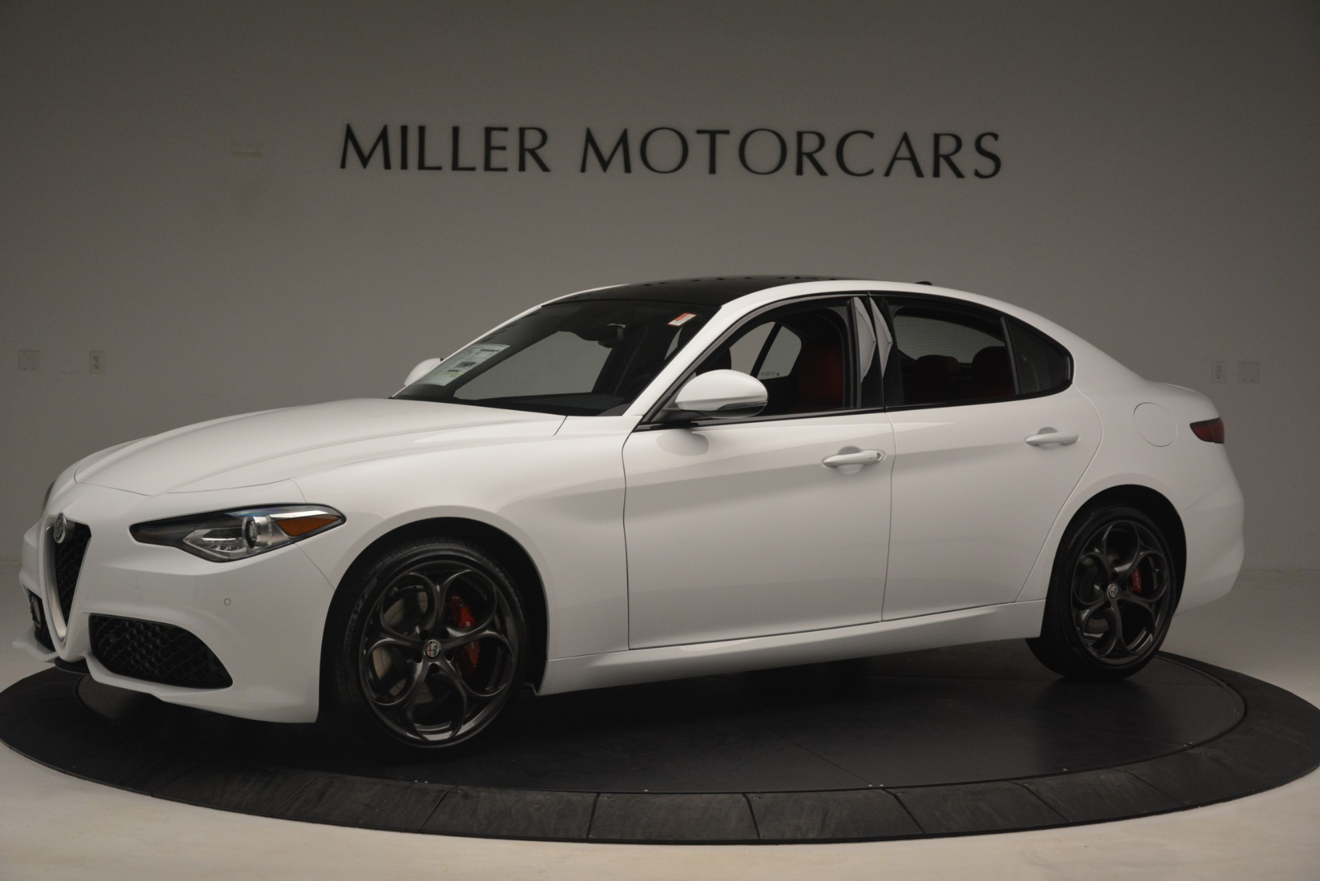 New 2019 Alfa Romeo Giulia Ti Sport Q4 For Sale In Greenwich, CT 2859_p2