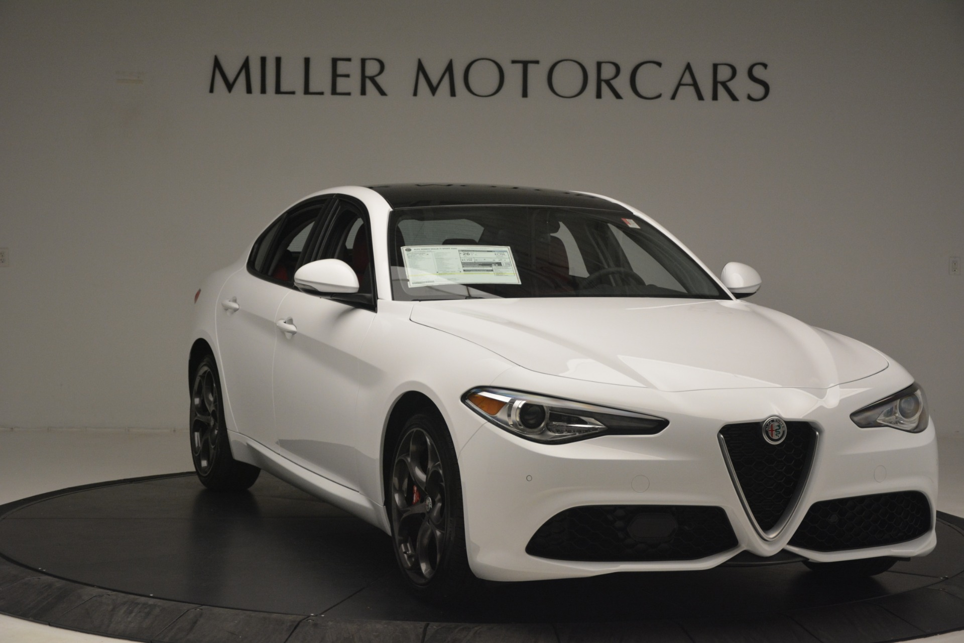 New 2019 Alfa Romeo Giulia Ti Sport Q4 For Sale In Greenwich, CT 2861_p11