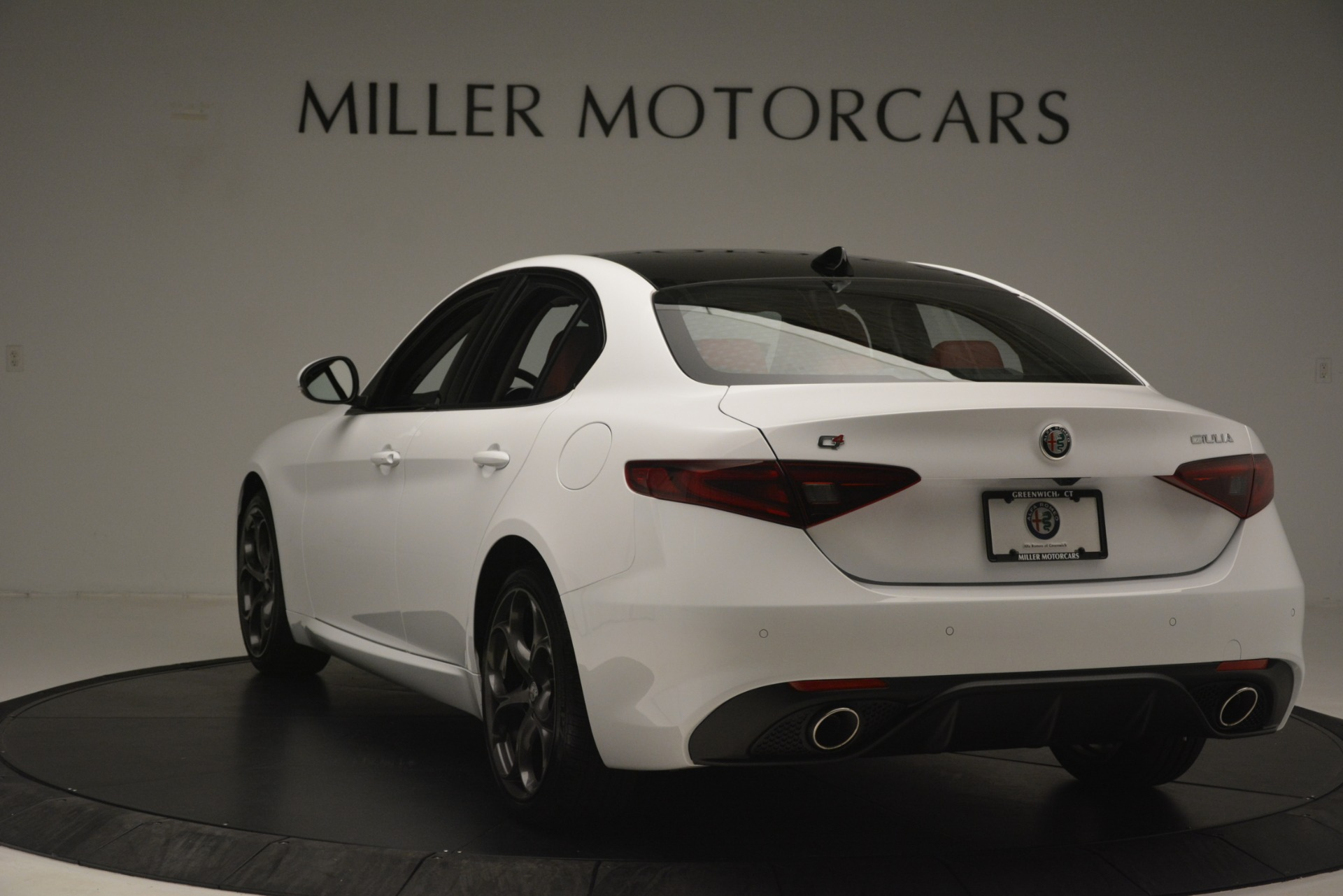 New 2019 Alfa Romeo Giulia Ti Sport Q4 For Sale In Greenwich, CT 2861_p5