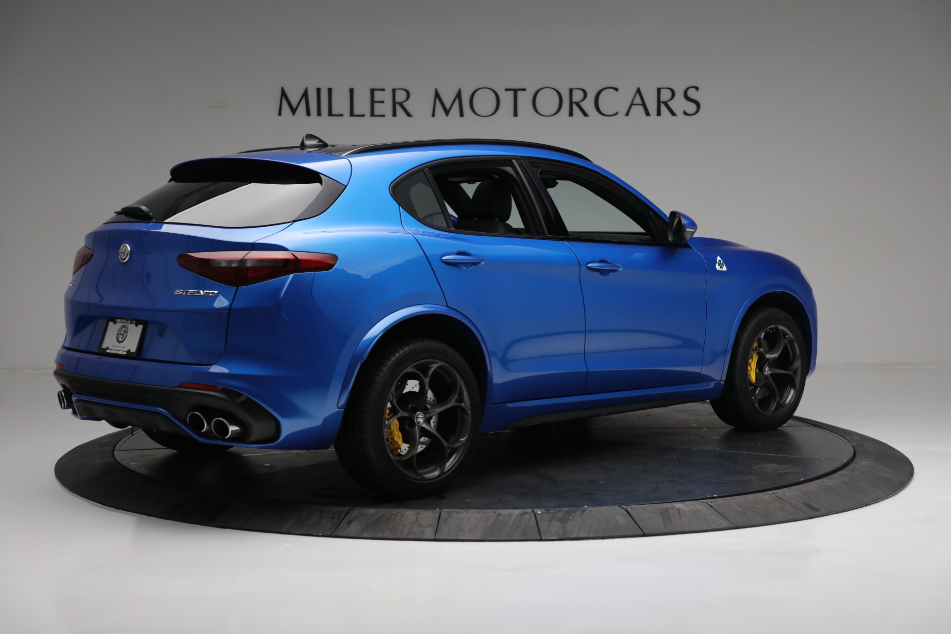 New 2019 Alfa Romeo Stelvio Quadrifoglio For Sale In Greenwich, CT 2867_p8