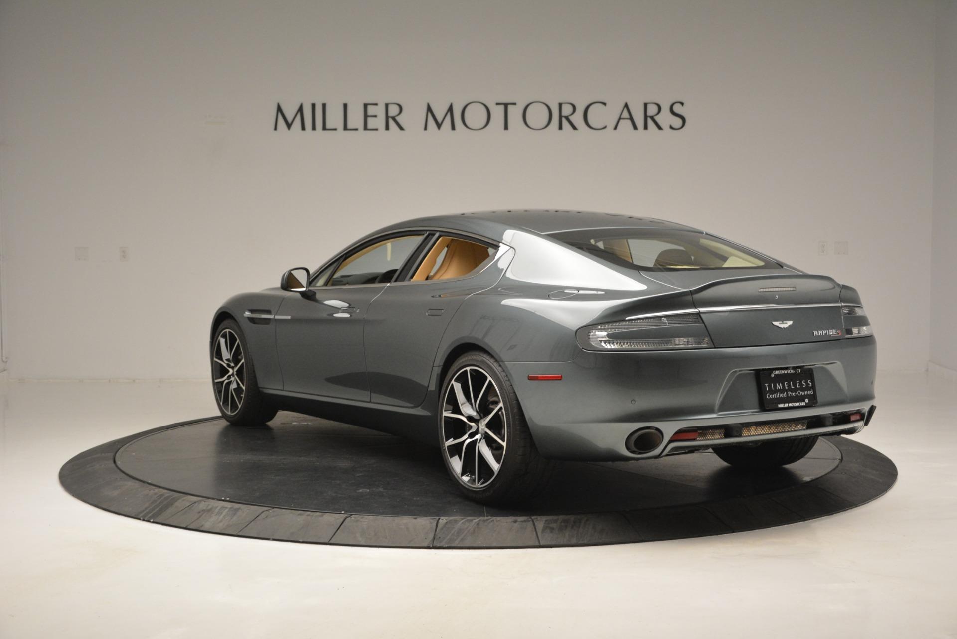 Used 2017 Aston Martin Rapide S Sedan For Sale In Greenwich, CT 2889_p5