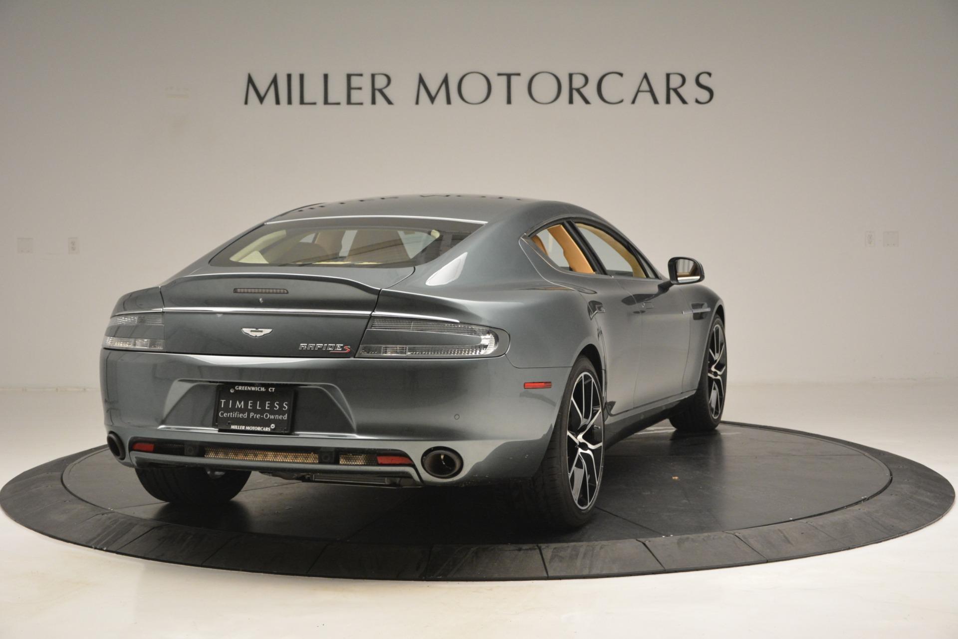 Used 2017 Aston Martin Rapide S Sedan For Sale In Greenwich, CT 2889_p7