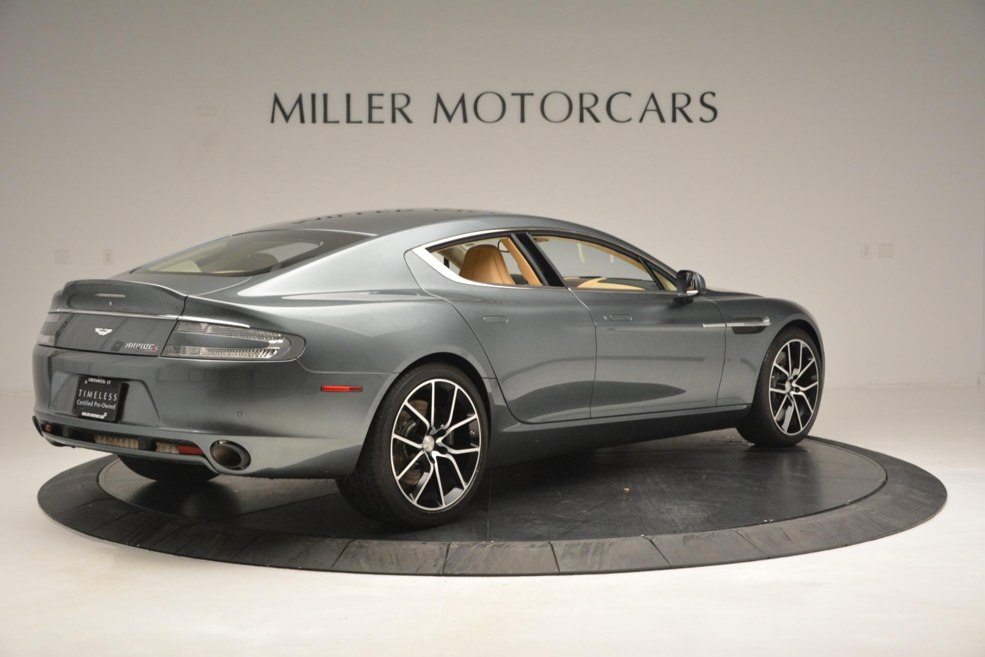 Used 2017 Aston Martin Rapide S Sedan For Sale In Greenwich, CT 2889_p8