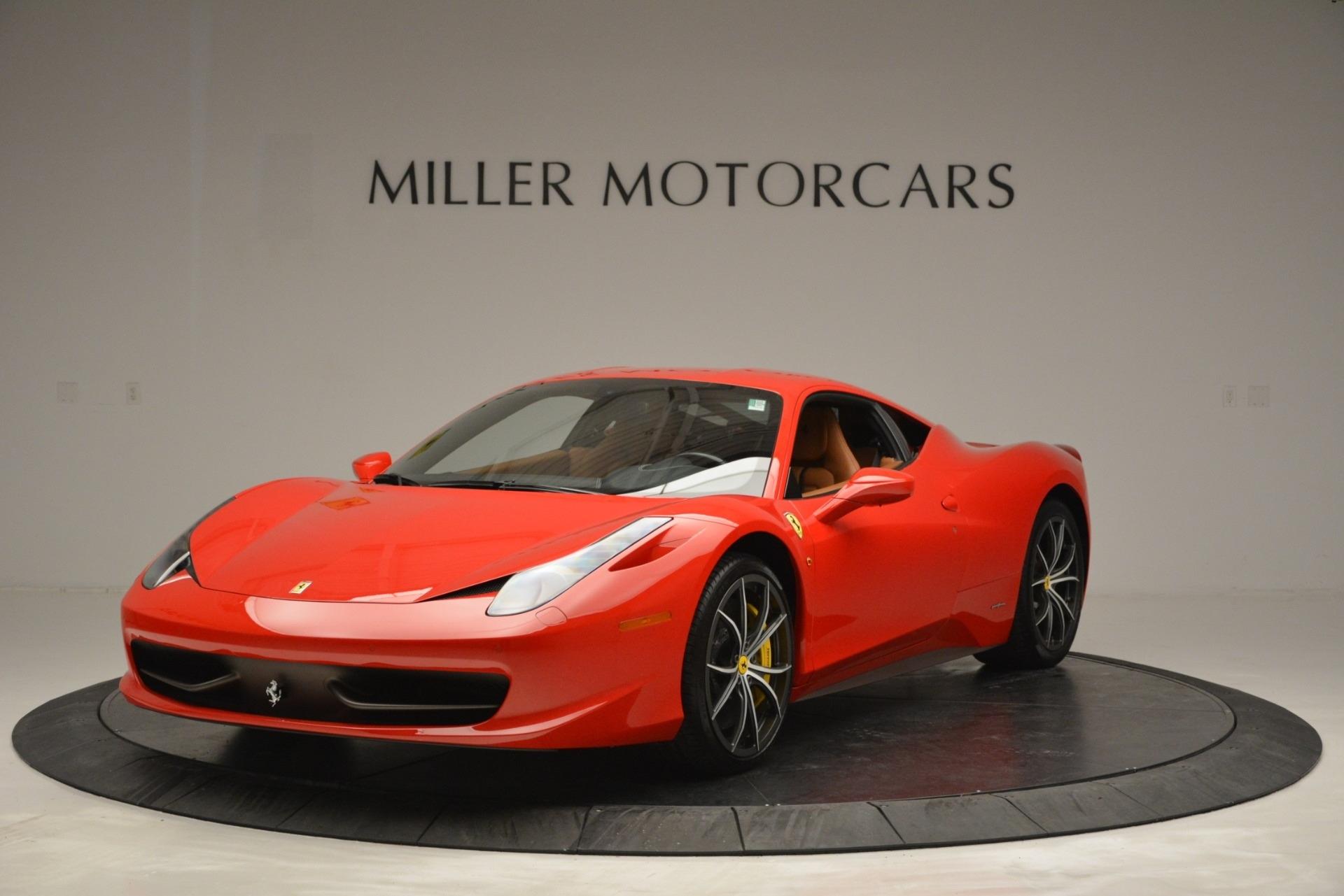 Used 2014 Ferrari 458 Italia  For Sale In Greenwich, CT 2920_main