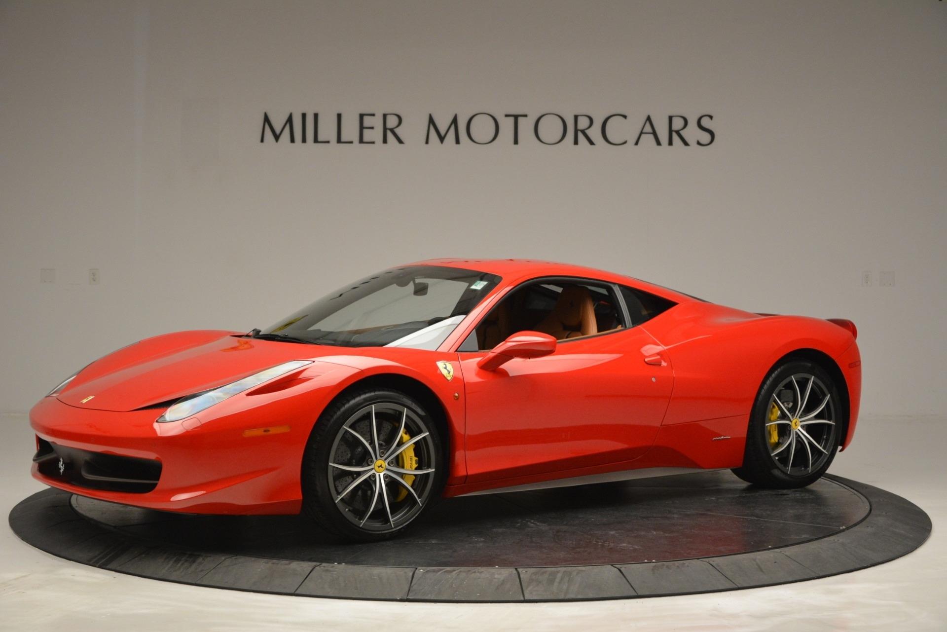 Used 2014 Ferrari 458 Italia  For Sale In Greenwich, CT 2920_p2