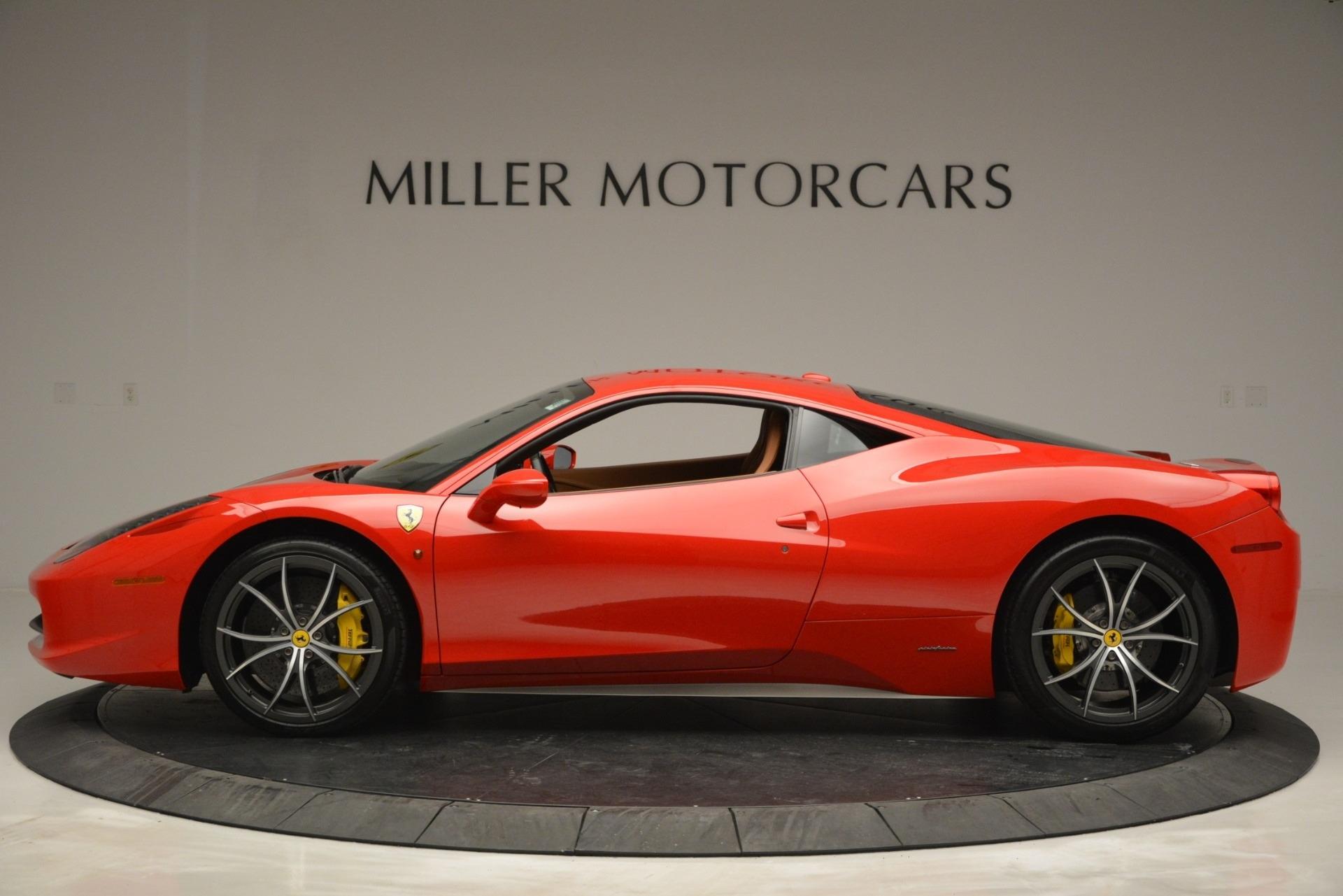 Used 2014 Ferrari 458 Italia  For Sale In Greenwich, CT 2920_p3