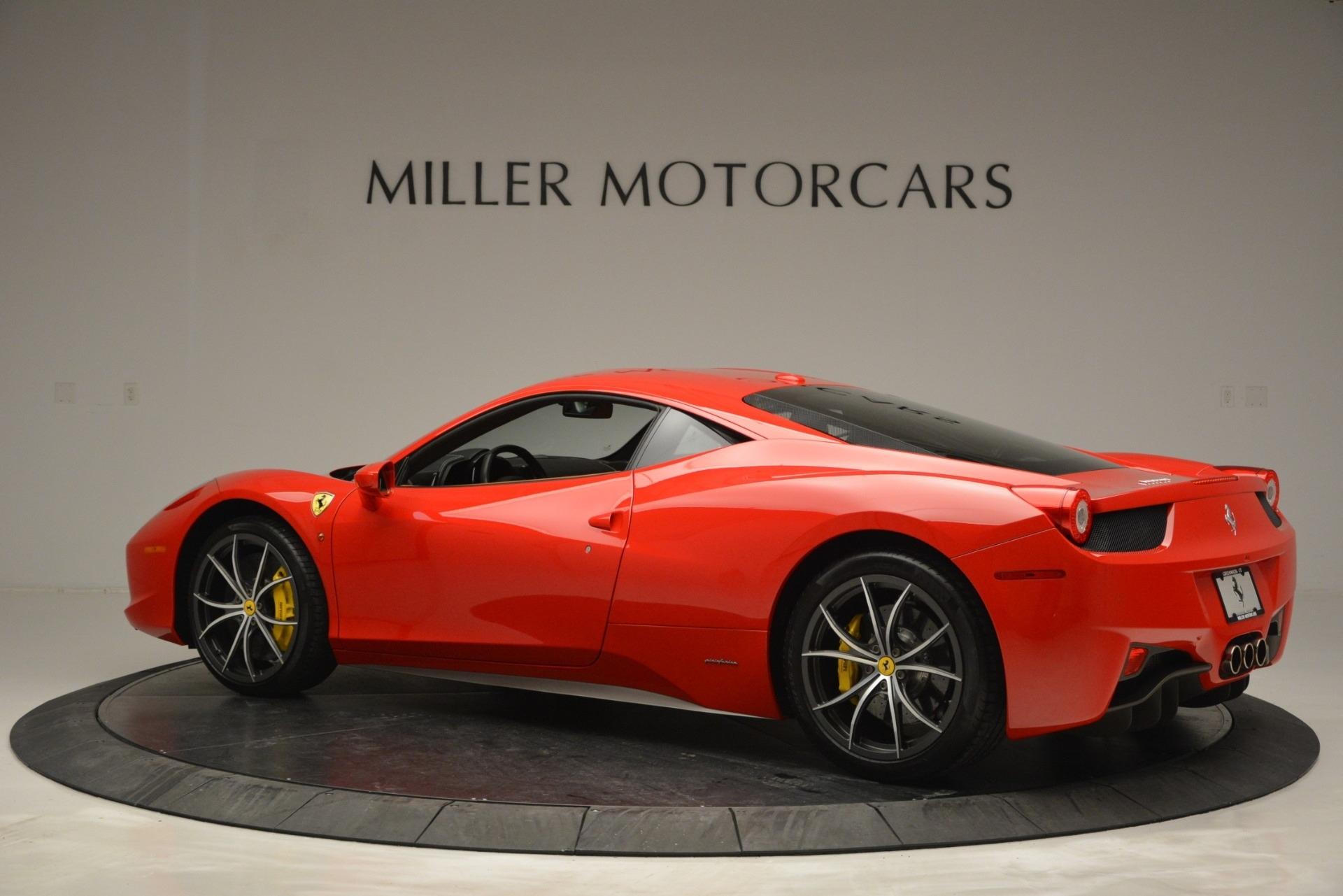Used 2014 Ferrari 458 Italia  For Sale In Greenwich, CT 2920_p4