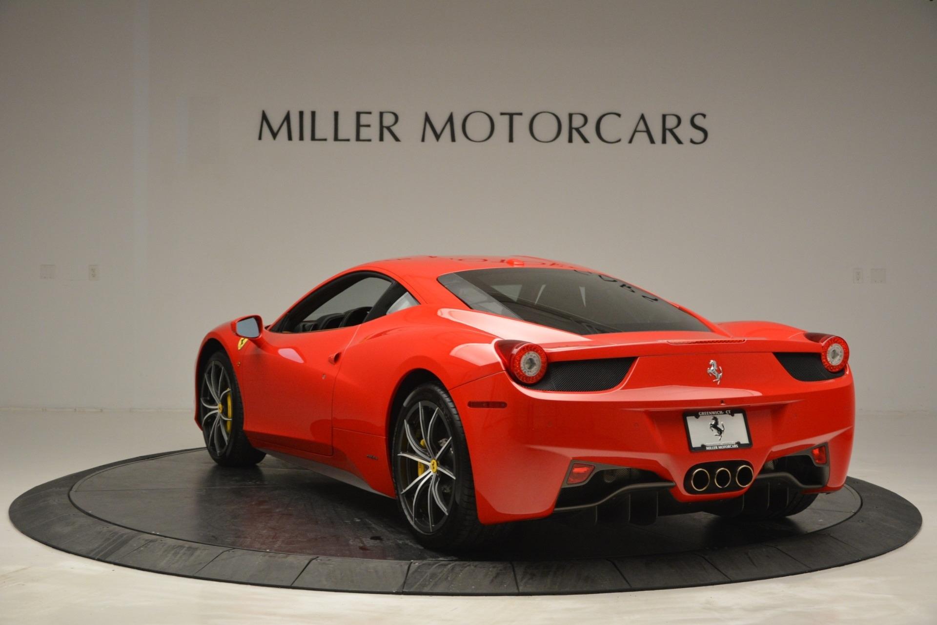 Used 2014 Ferrari 458 Italia  For Sale In Greenwich, CT 2920_p5