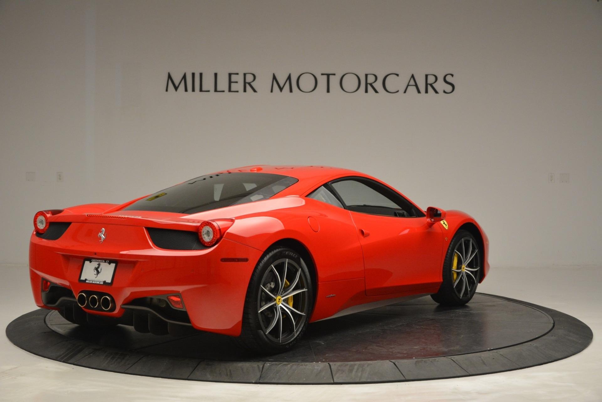 Used 2014 Ferrari 458 Italia  For Sale In Greenwich, CT 2920_p7