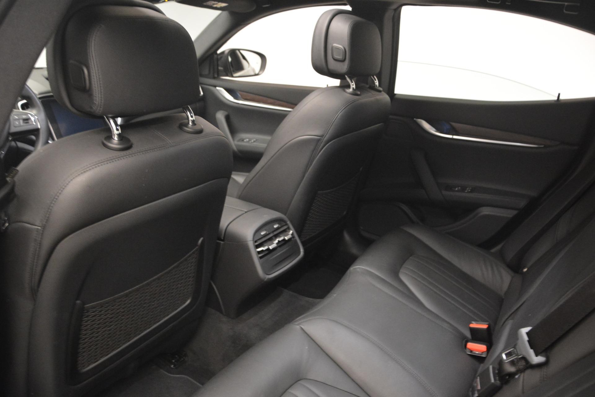 Used 2018 Maserati Ghibli S Q4 For Sale In Greenwich, CT 2944_p22