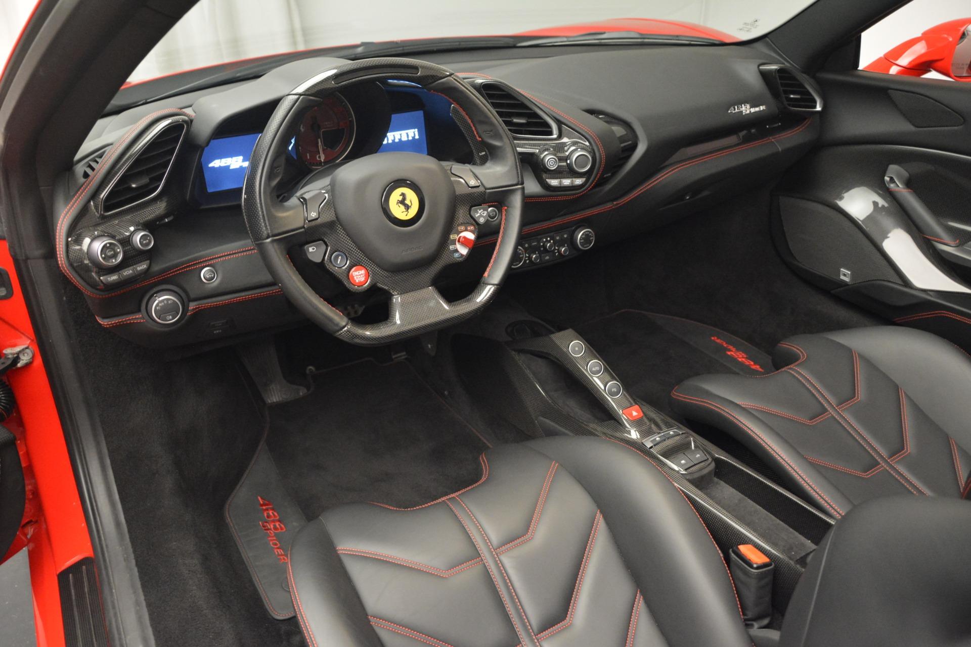 Used 2017 Ferrari 488 Spider  For Sale In Greenwich, CT 2965_p25
