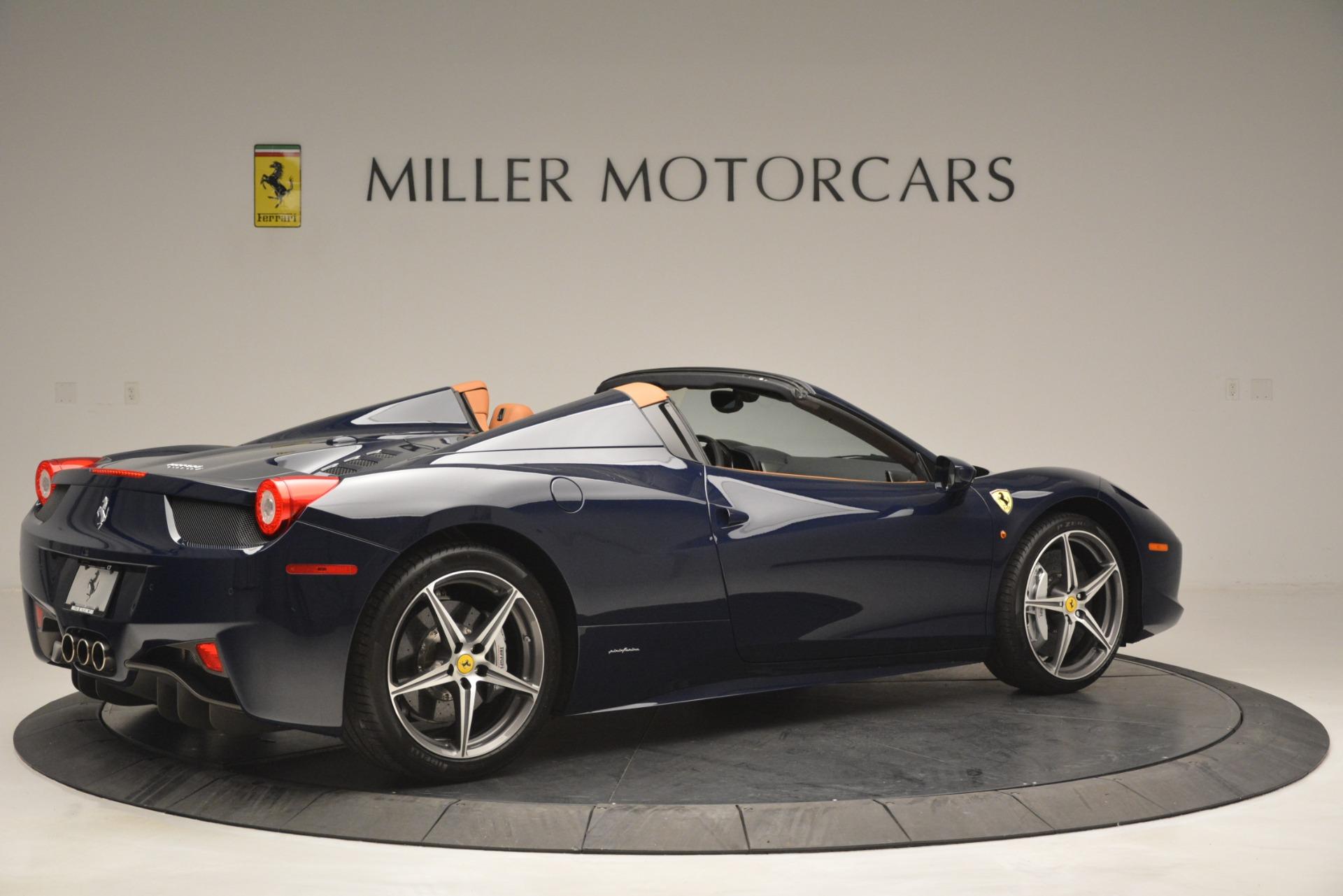 Used 2014 Ferrari 458 Spider  For Sale In Greenwich, CT 3013_p8