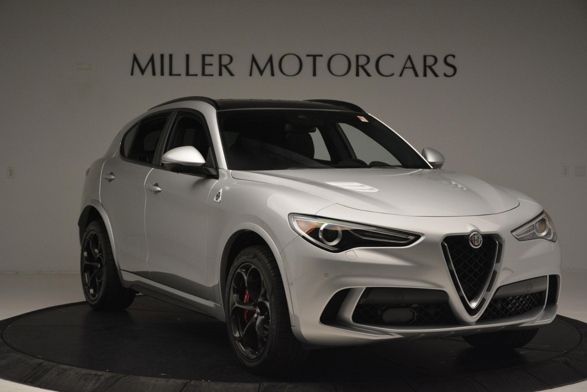 New 2019 Alfa Romeo Stelvio Quadrifoglio For Sale In Greenwich, CT 3039_p11