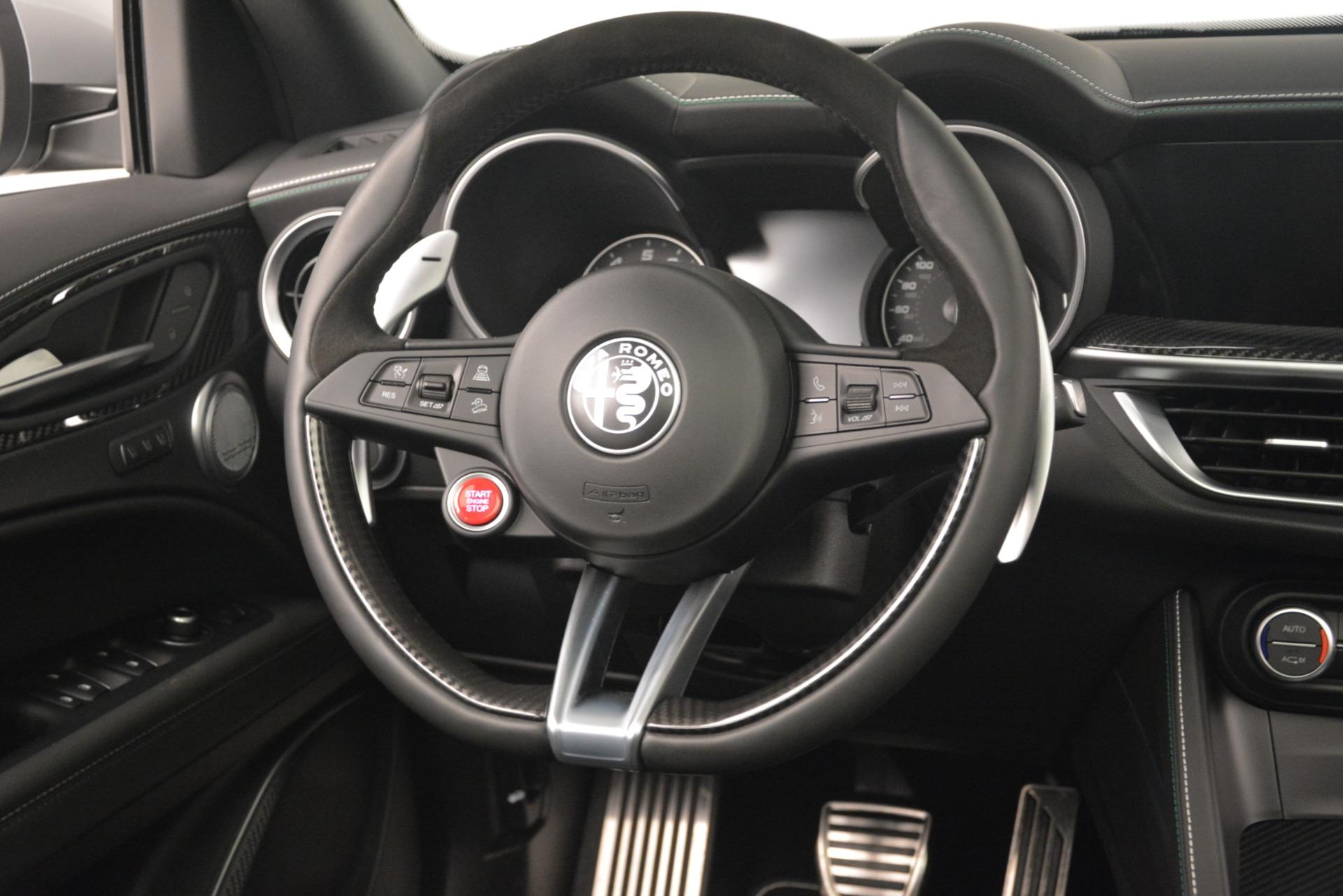 New 2019 Alfa Romeo Stelvio Quadrifoglio For Sale In Greenwich, CT 3039_p16