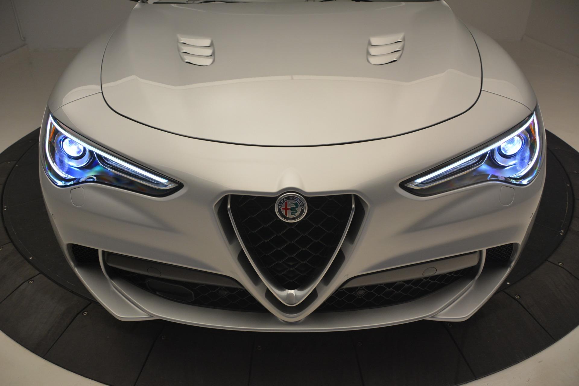 New 2019 Alfa Romeo Stelvio Quadrifoglio For Sale In Greenwich, CT 3039_p35