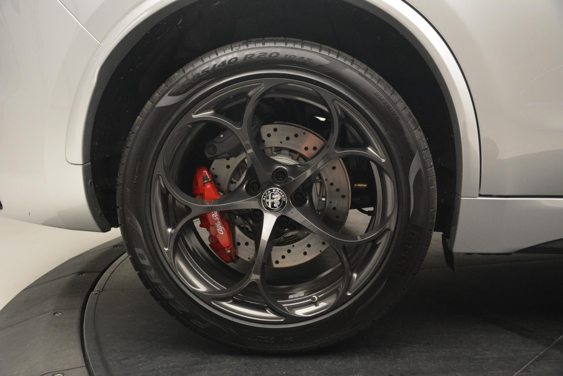 New 2019 Alfa Romeo Stelvio Quadrifoglio For Sale In Greenwich, CT 3039_p37