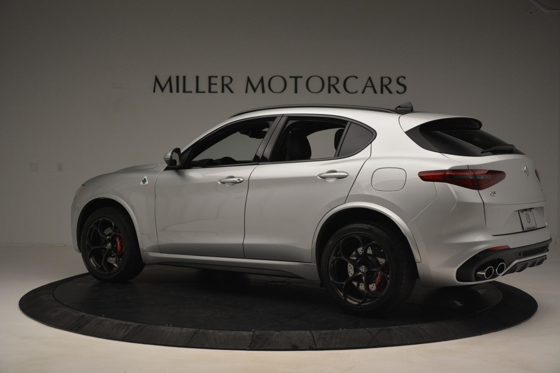 New 2019 Alfa Romeo Stelvio Quadrifoglio For Sale In Greenwich, CT 3039_p4