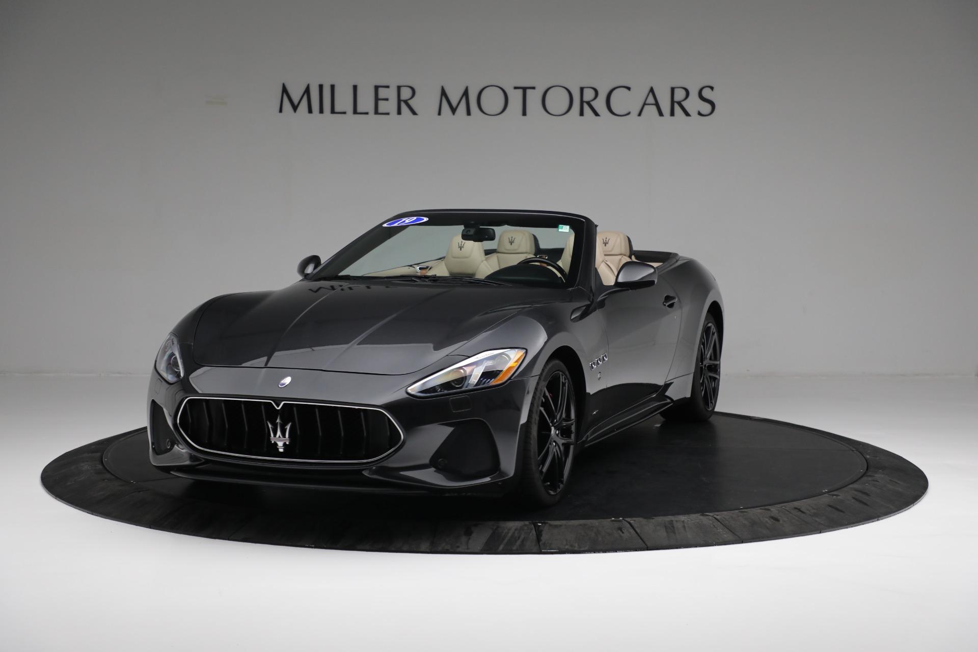 New 2019 Maserati GranTurismo Sport Convertible For Sale In Greenwich, CT 3040_main