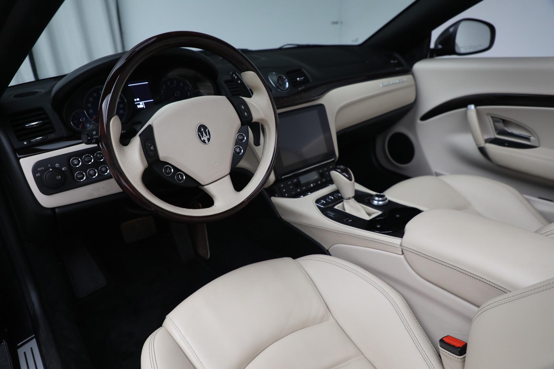 New 2019 Maserati GranTurismo Sport Convertible For Sale In Greenwich, CT 3040_p19