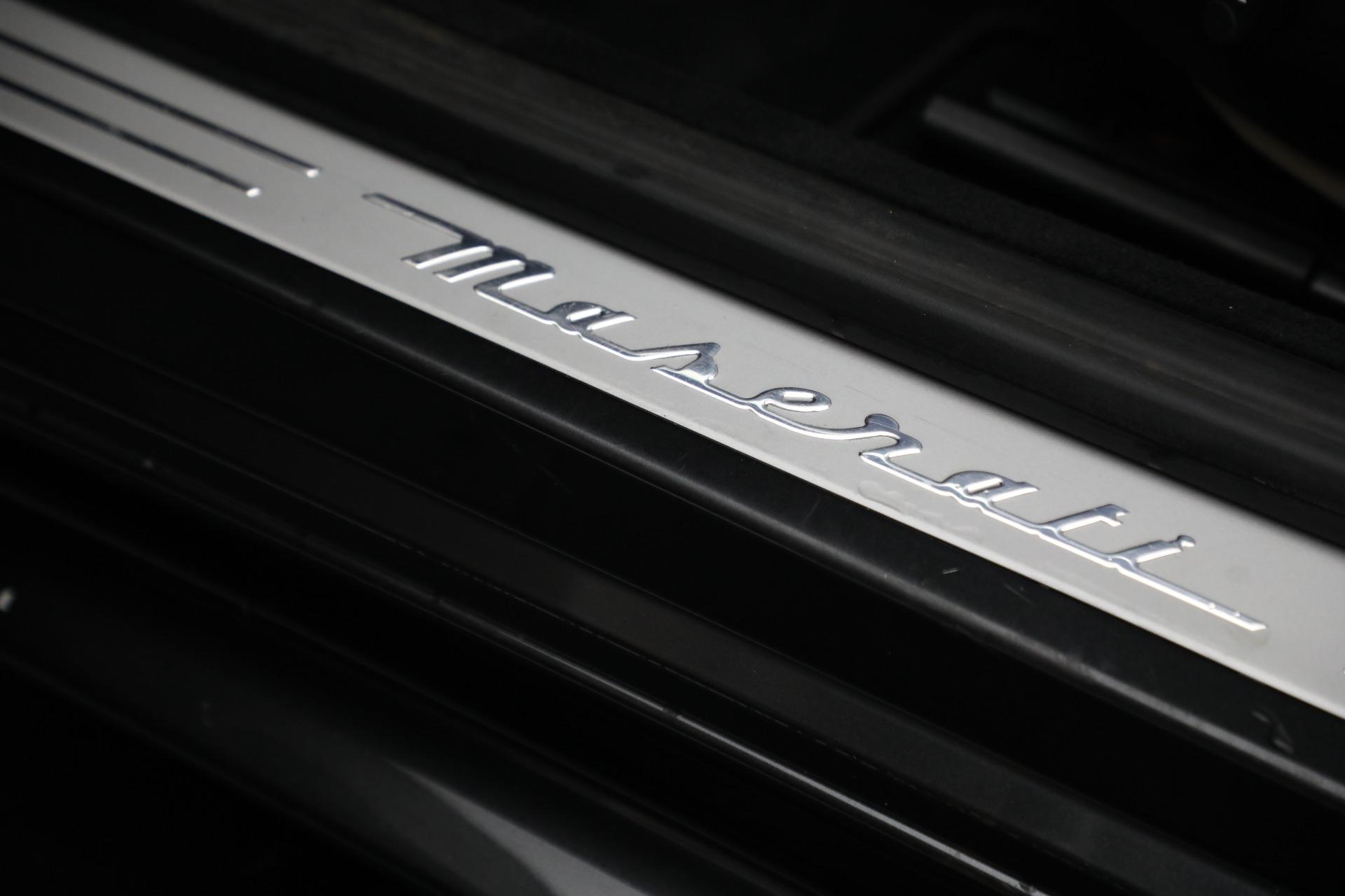 New 2019 Maserati GranTurismo Sport Convertible For Sale In Greenwich, CT 3040_p30