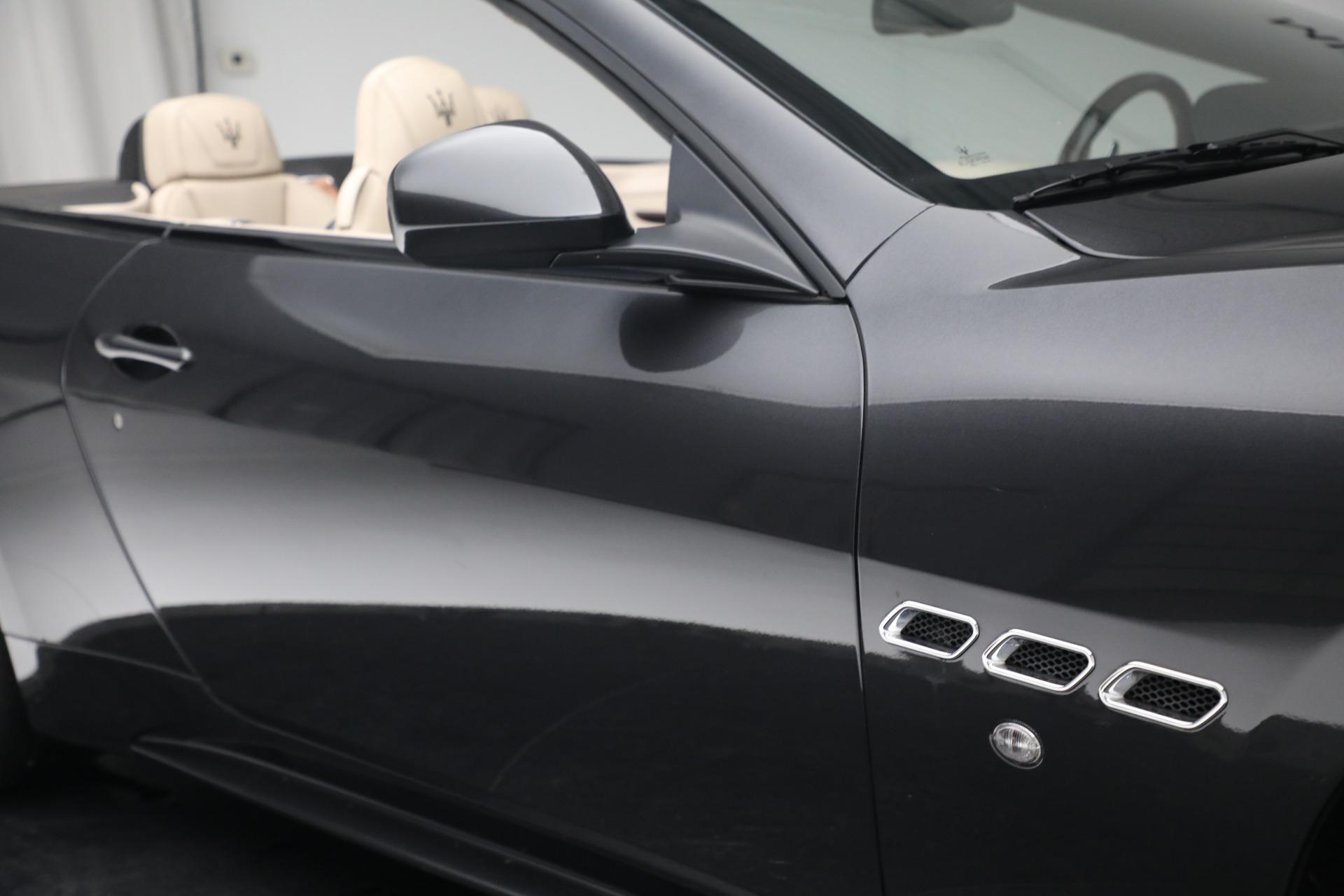 New 2019 Maserati GranTurismo Sport Convertible For Sale In Greenwich, CT 3040_p35