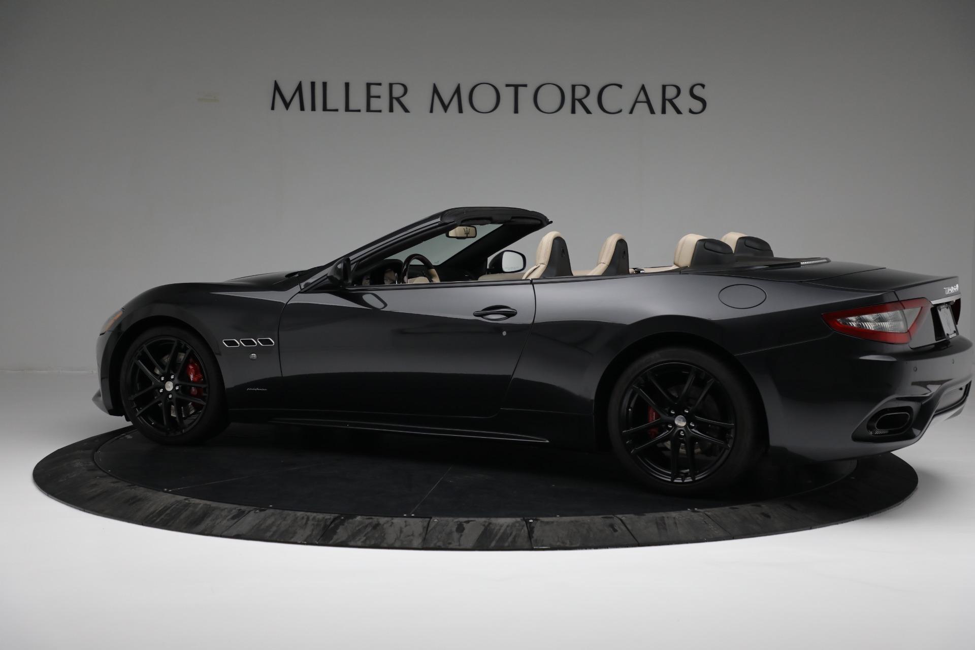 New 2019 Maserati GranTurismo Sport Convertible For Sale In Greenwich, CT 3040_p4