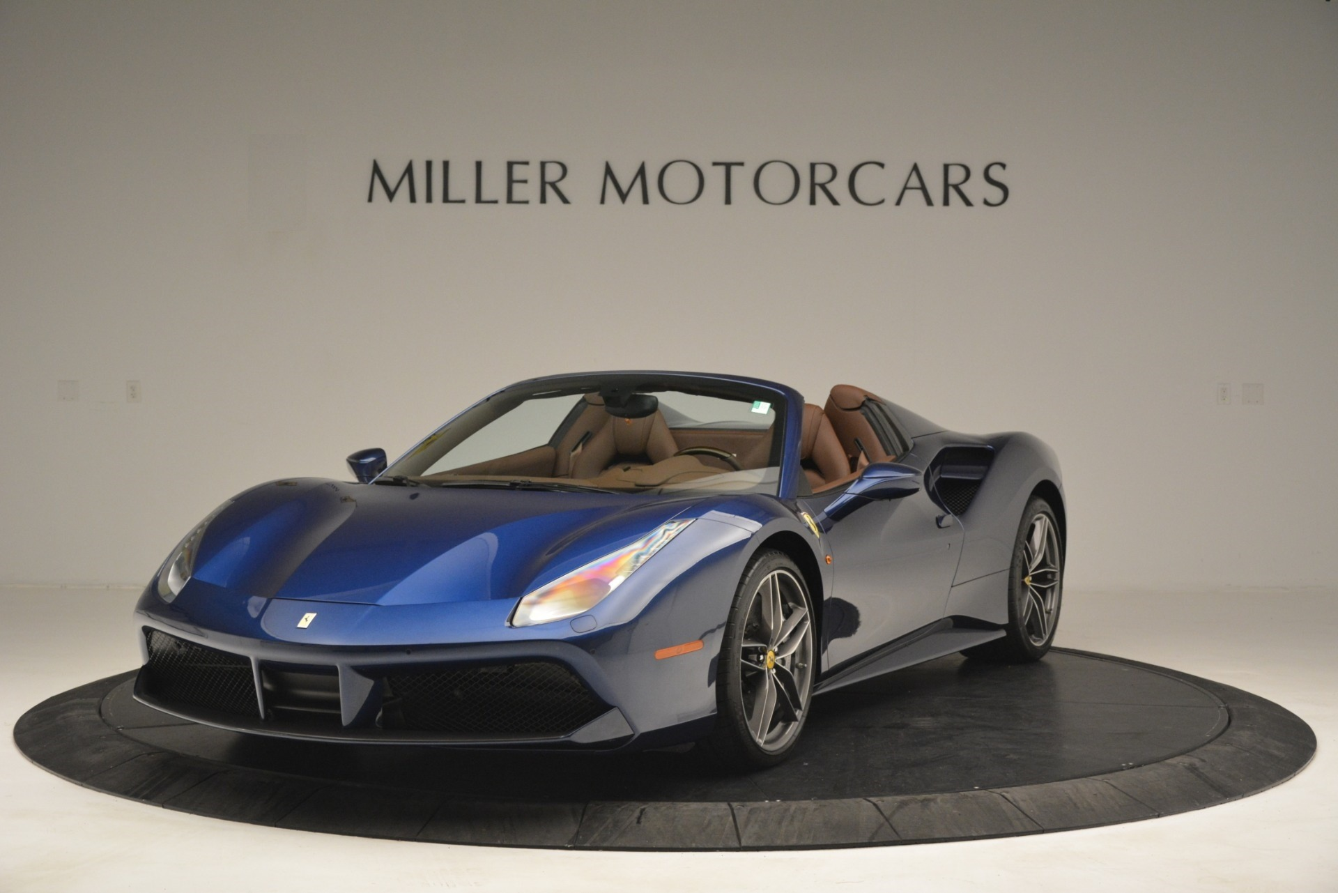 Used 2018 Ferrari 488 Spider  For Sale In Greenwich, CT 3045_main