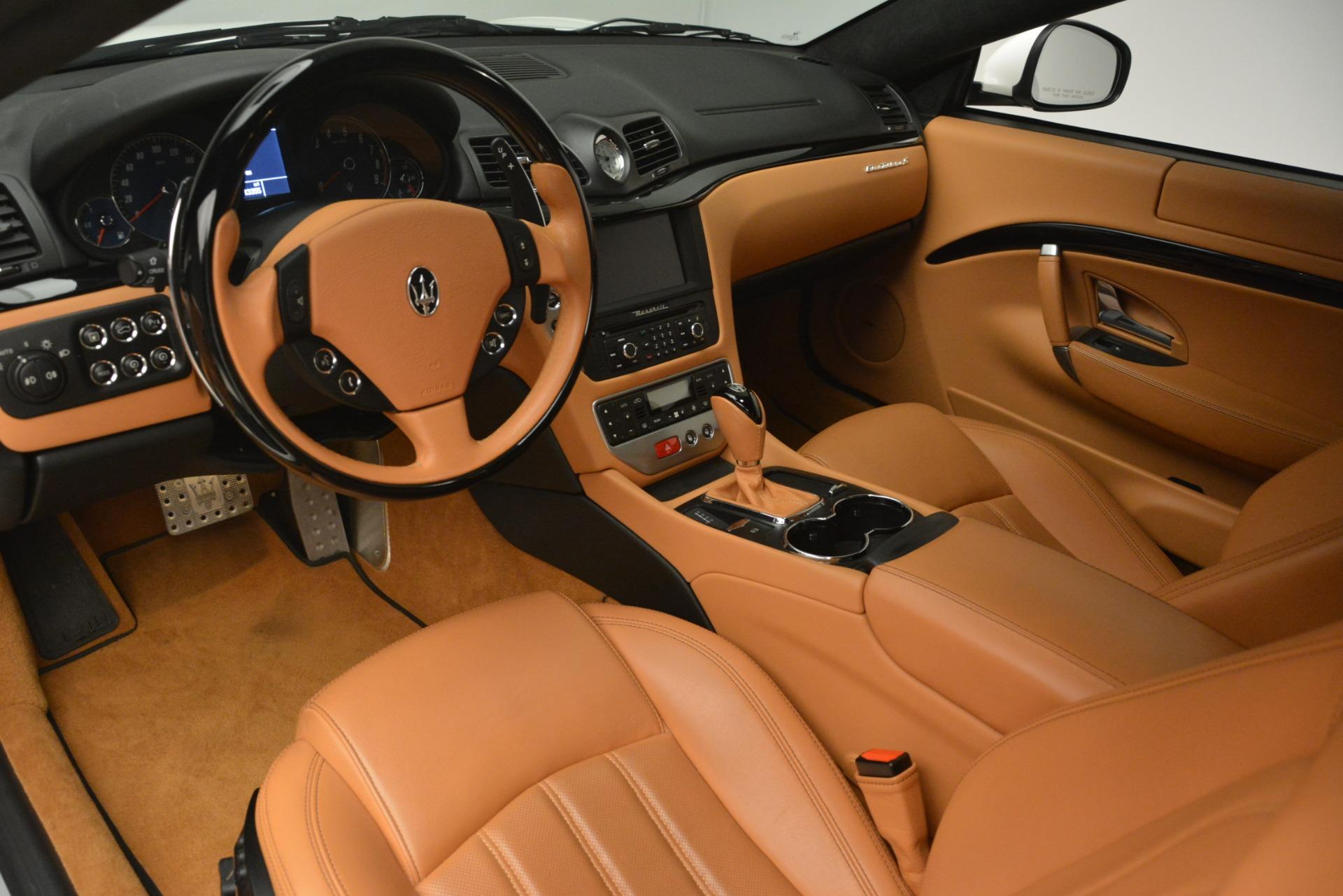 Used 2011 Maserati GranTurismo S Automatic For Sale In Greenwich, CT 3061_p13