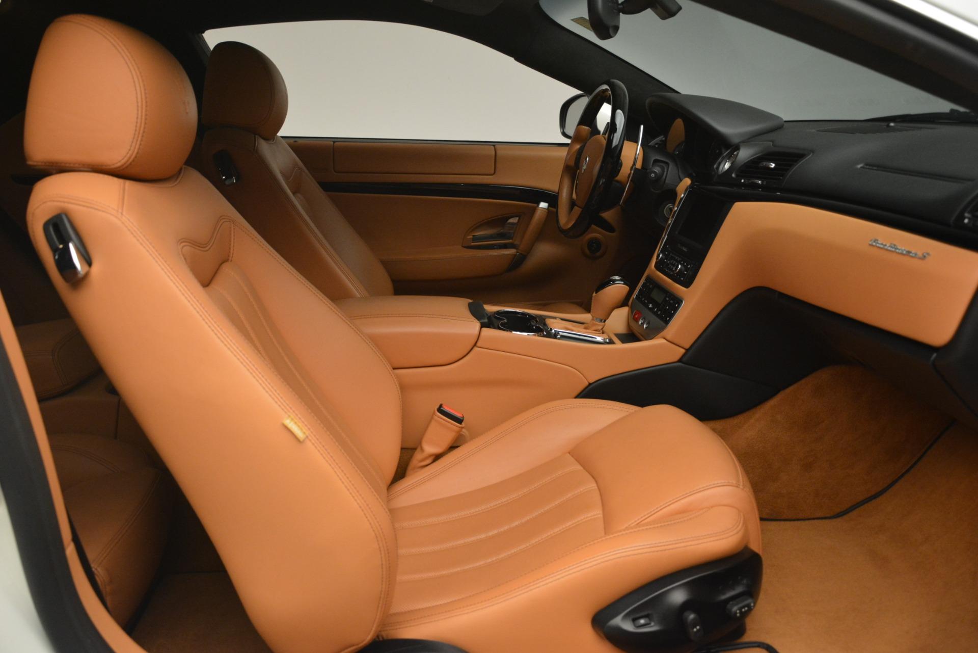 Used 2011 Maserati GranTurismo S Automatic For Sale In Greenwich, CT 3061_p17