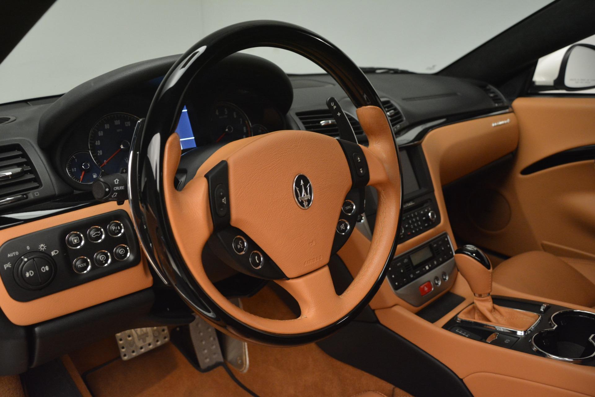 Used 2011 Maserati GranTurismo S Automatic For Sale In Greenwich, CT 3061_p19
