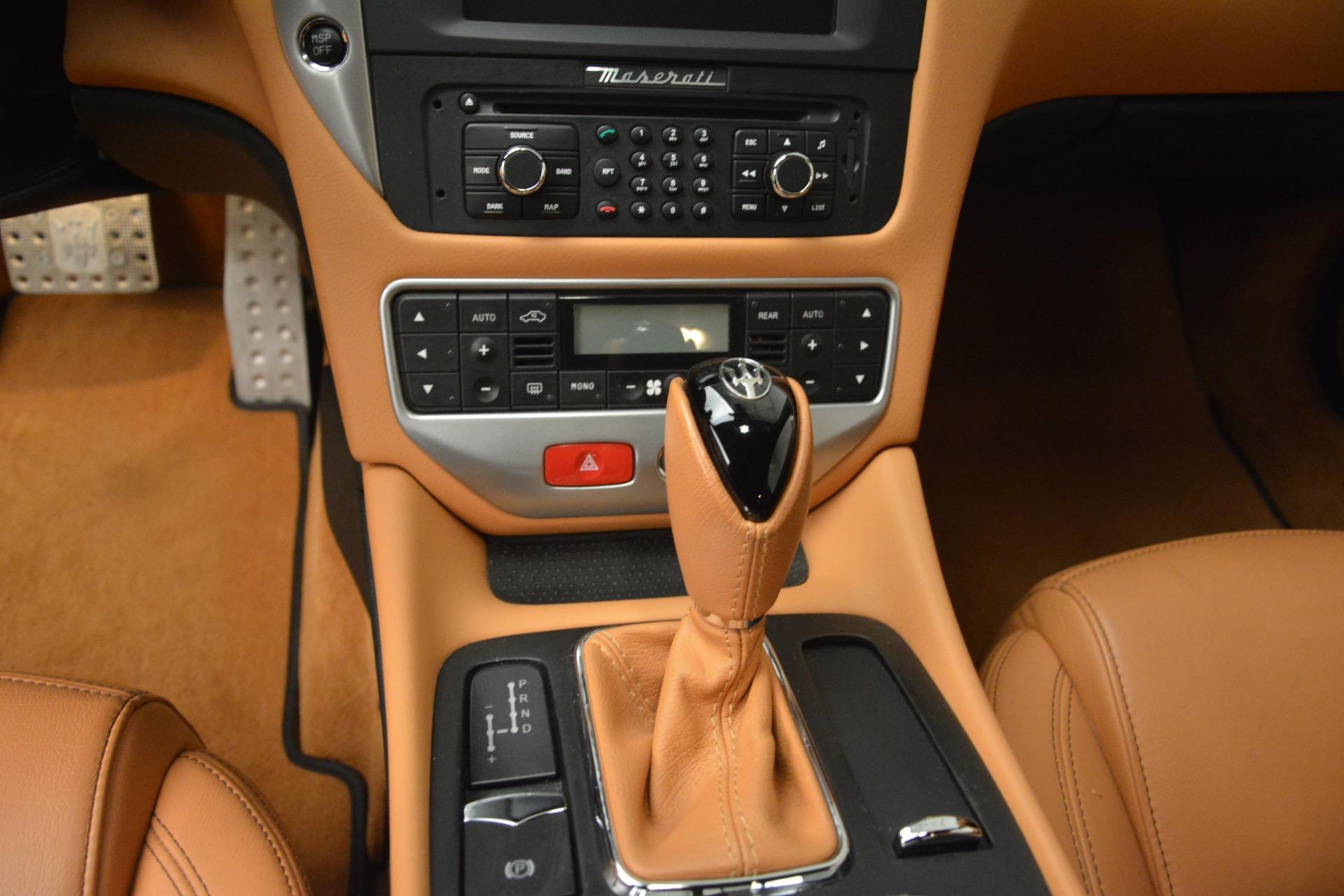 Used 2011 Maserati GranTurismo S Automatic For Sale In Greenwich, CT 3061_p20