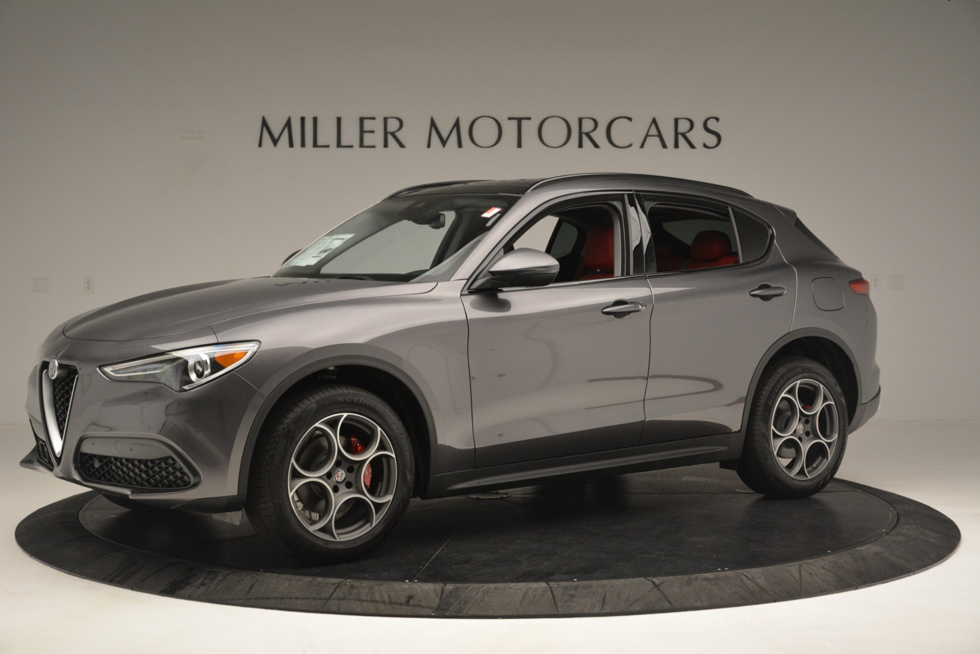 New 2019 Alfa Romeo Stelvio Sport Q4 For Sale In Greenwich, CT 3075_p2